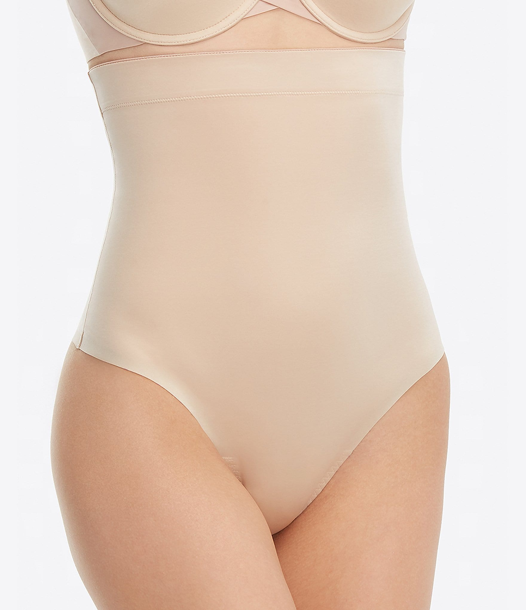 04b9eec8c7b Spanx Plus Size Suit Your Fancy High-Waisted Thong