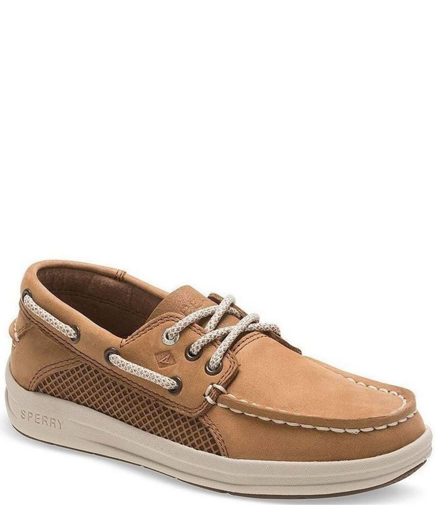 Sperry Boys' Gamefish Leather Boat Shoes (Youth) | Dillard's