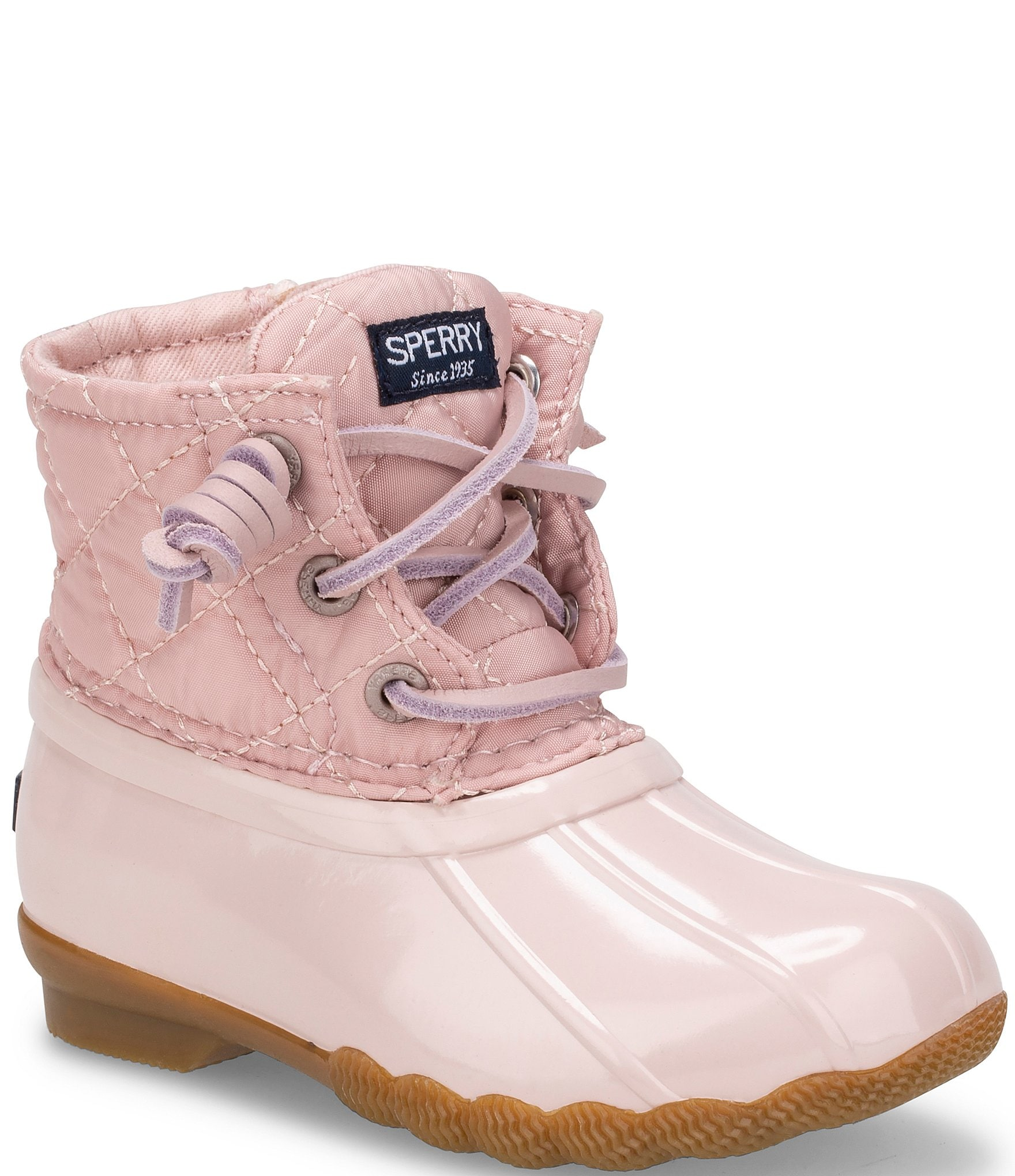 Sperry Girls' Quilted Saltwater Boots