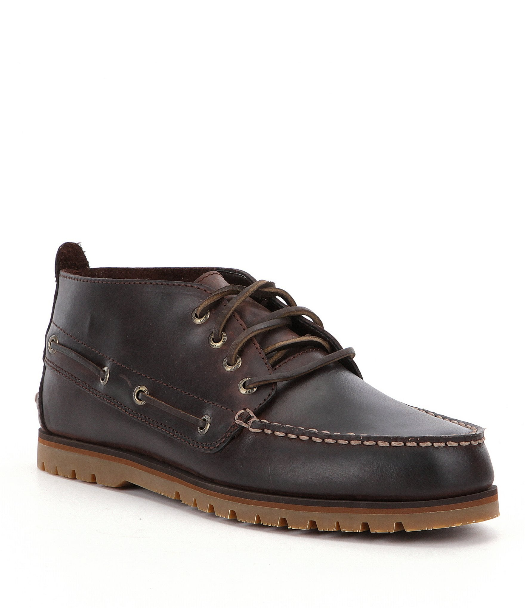 Innovative MENS SPERRY TOP SIDER BROWN LUG CHUKKA WATERPROOF DECK SHOES ANKLE BOOTS SIZE | EBay