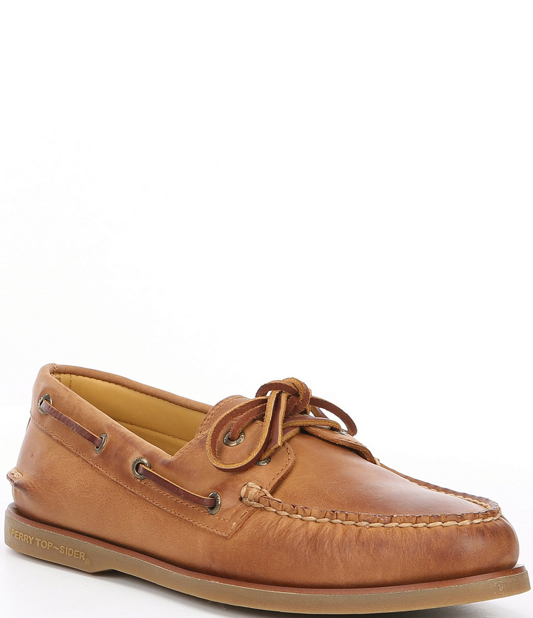 Sperry Men's Gold Authentic Original 2 Eye Boat Shoe