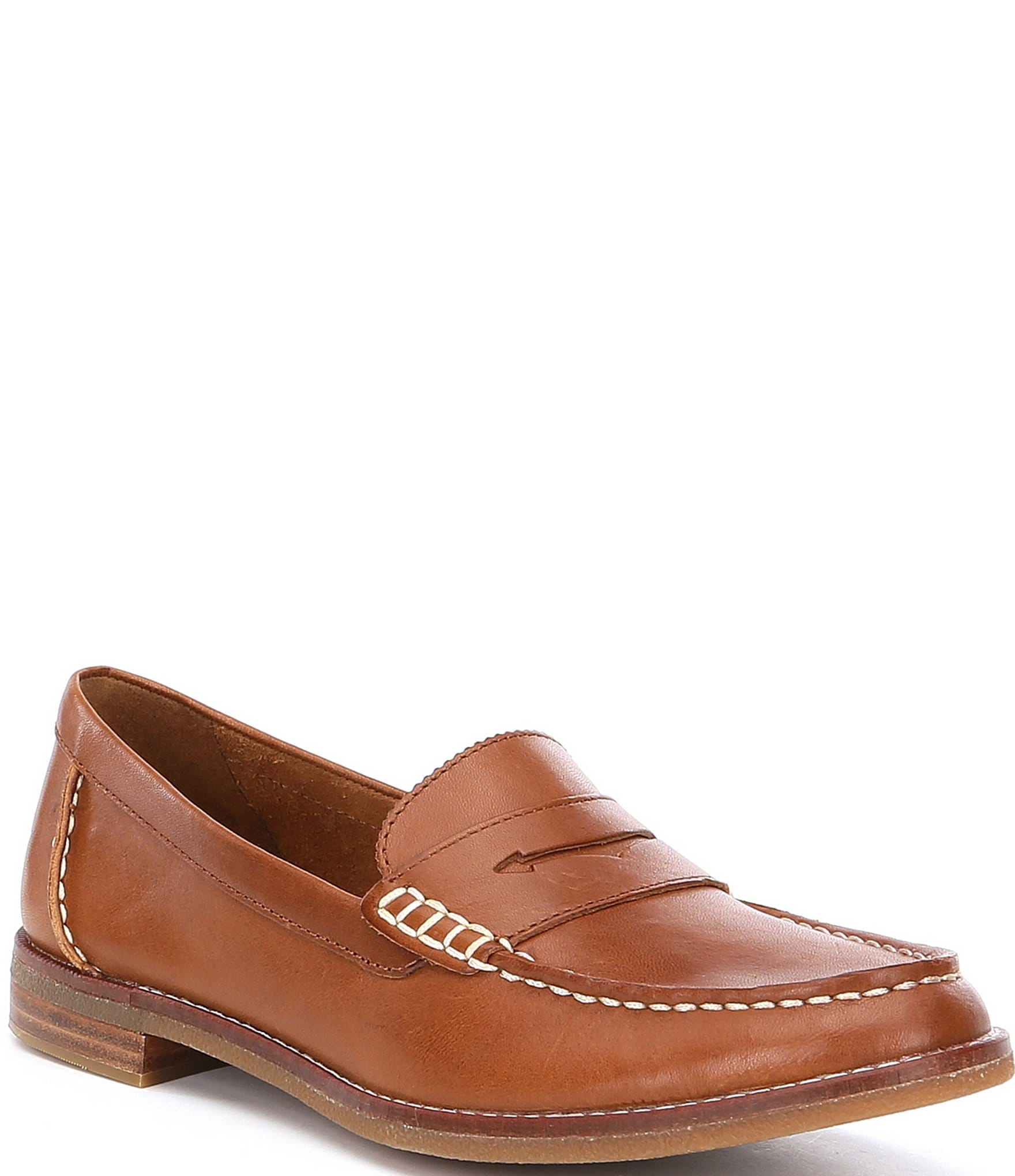Sperry Women's Seaport Leather Penny Loafers | Dillard's