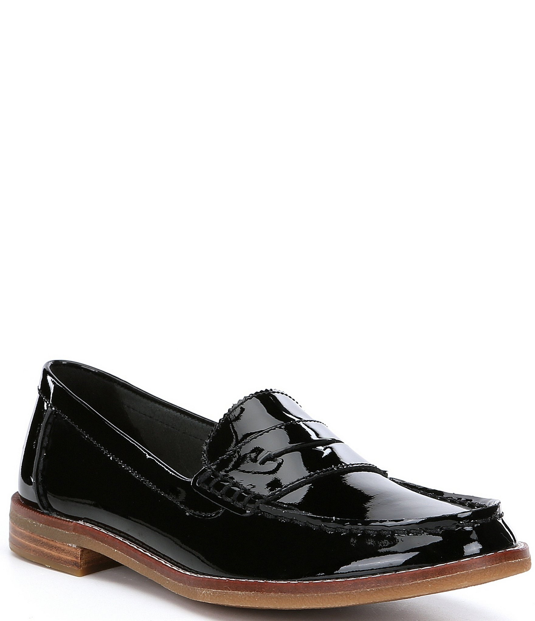 ba9304c9a90 Sperry Women s Seaport Penny Patent Leather Loafers
