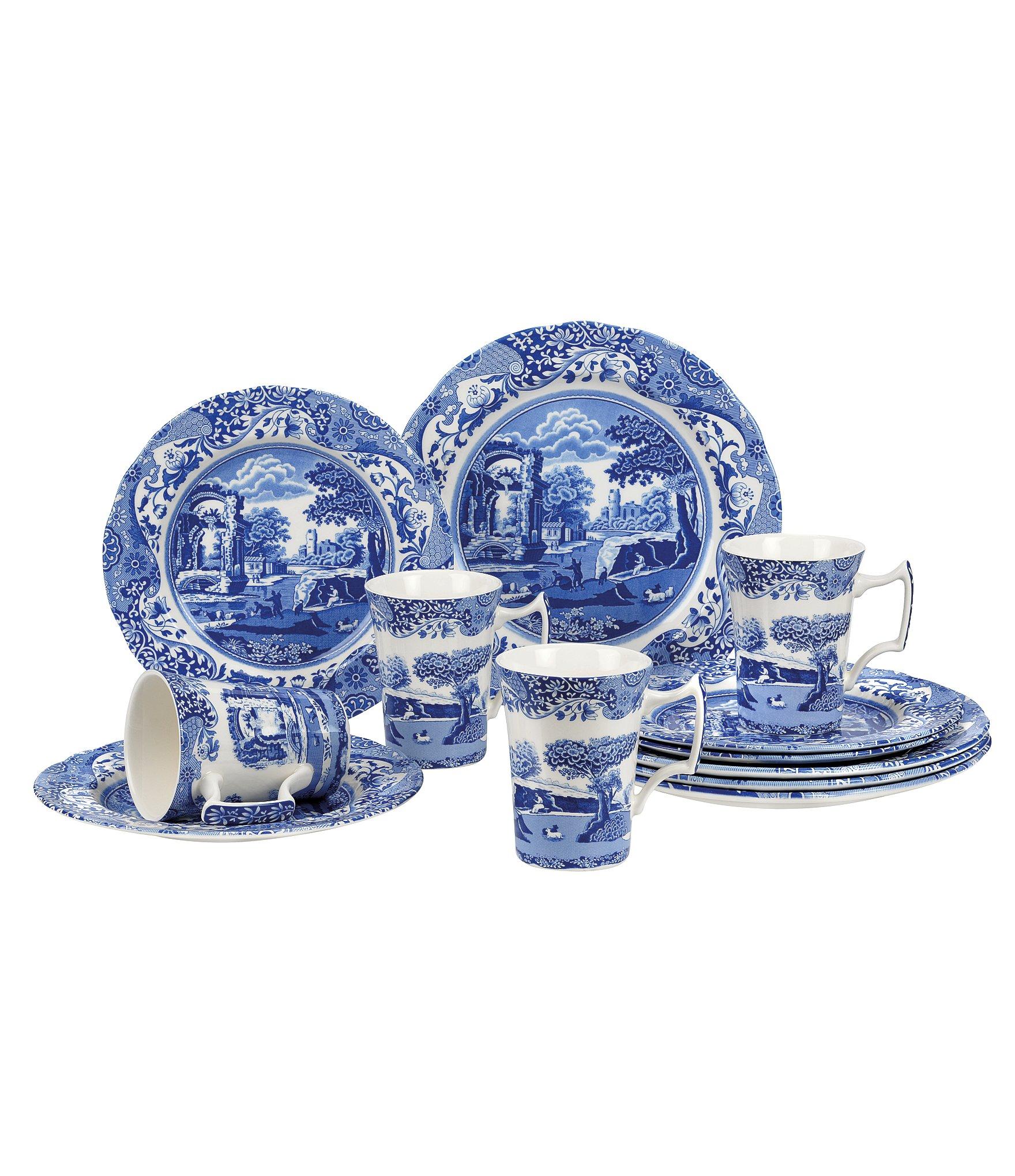 Blue And White Dinnerware Set Home Ideas