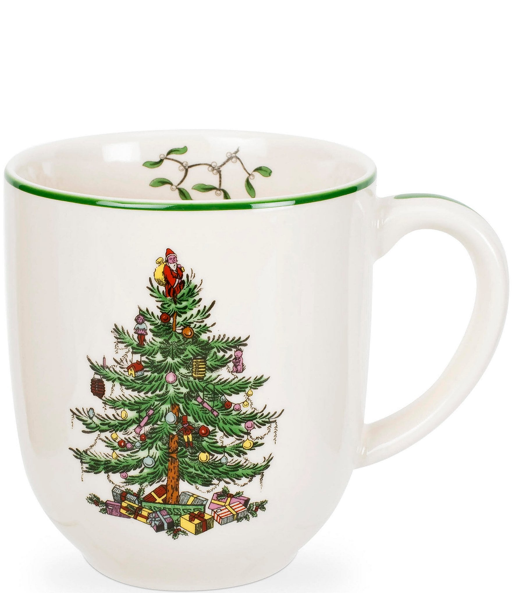 Spode Christmas Tree China Sale: Spode Christmas Tree China 14-oz. Cafe Mug