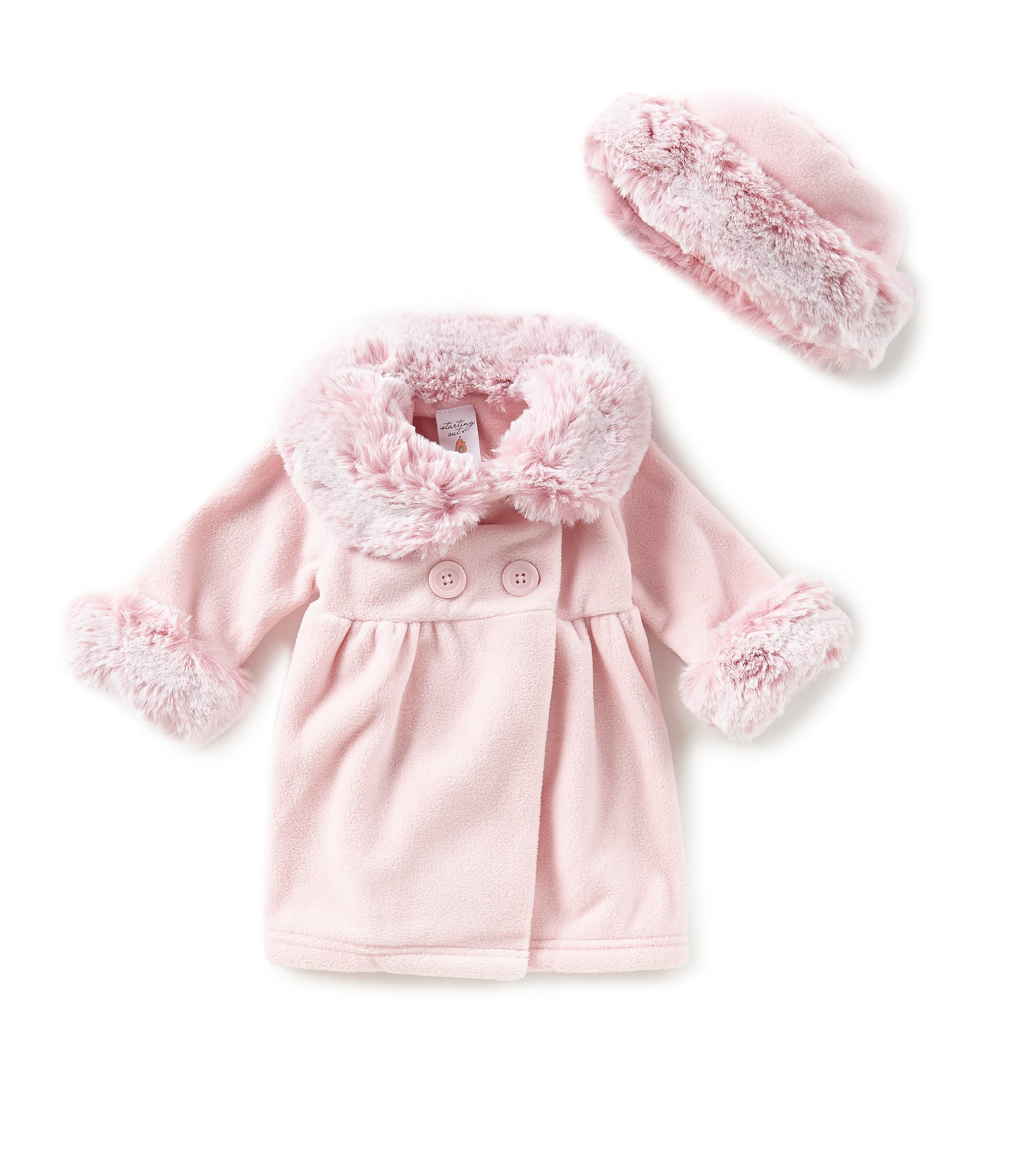 baby girl coats & jackets Perfect for when the weather doesn't play nice this season, our range of baby girl coats and jackets will help keep your little one warm and dry. Our range of hooded jackets from Minoti and Trespass work their waterproof magic through seasonal showers while fleece pieces and gilets are ideal layering pieces on cooler days.