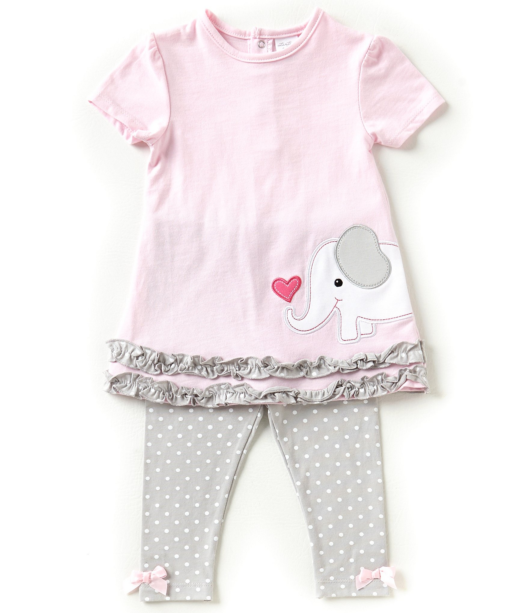 Starting Out Baby Girls 3 24 Months Flutter Sleeve