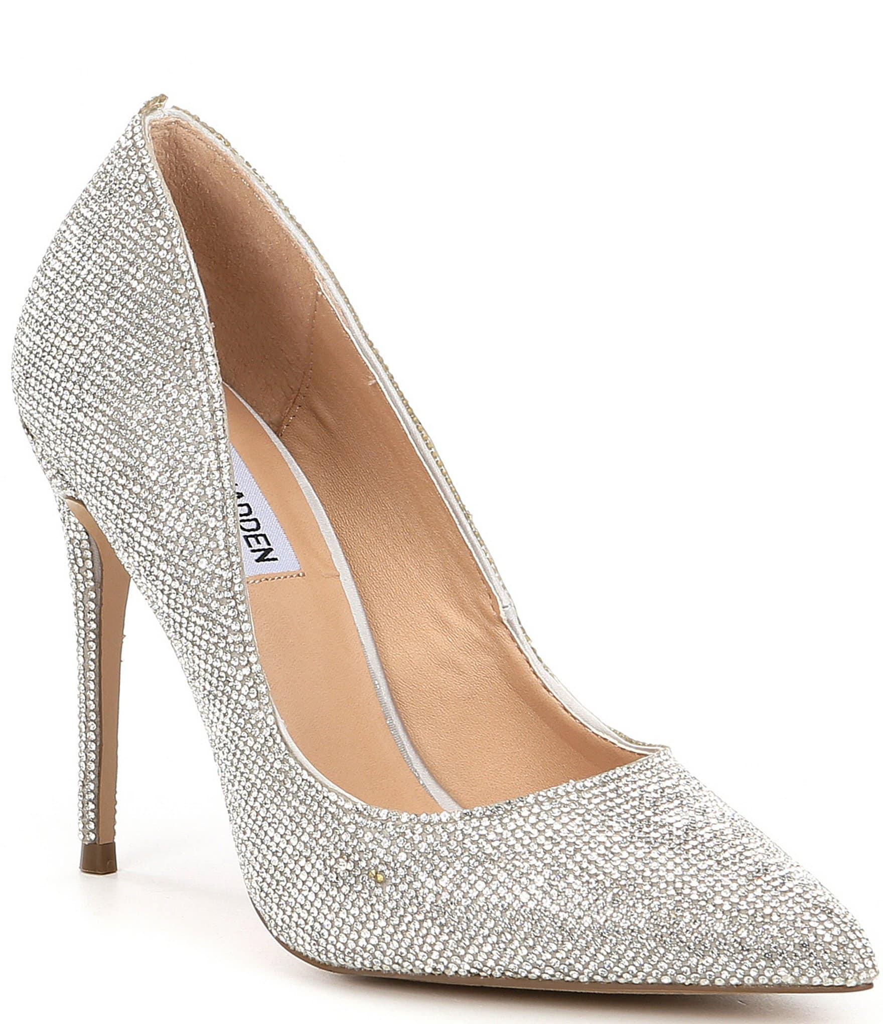 Silver Steve Madden Shoes for Women
