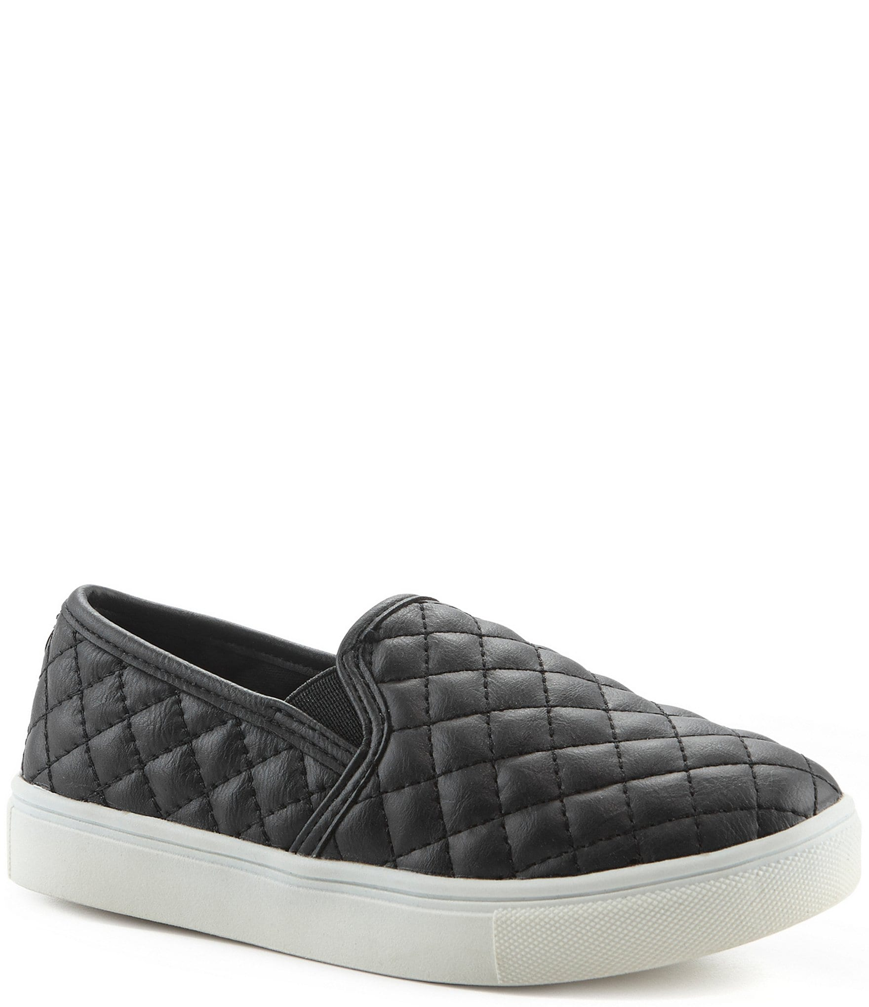 f4713310ea8d3 Steve Madden J-Ecentricq Girls' Quilted Slip-On Sneakers