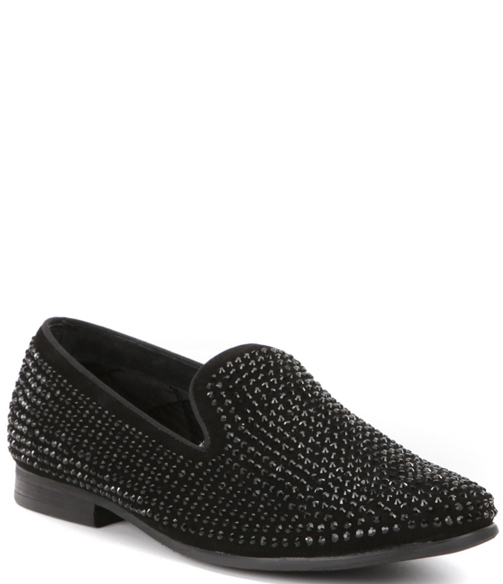 cae1bfa5e3e Steve Madden Men s Caviarr Crystal Embellishment Slip-On Loafers ...