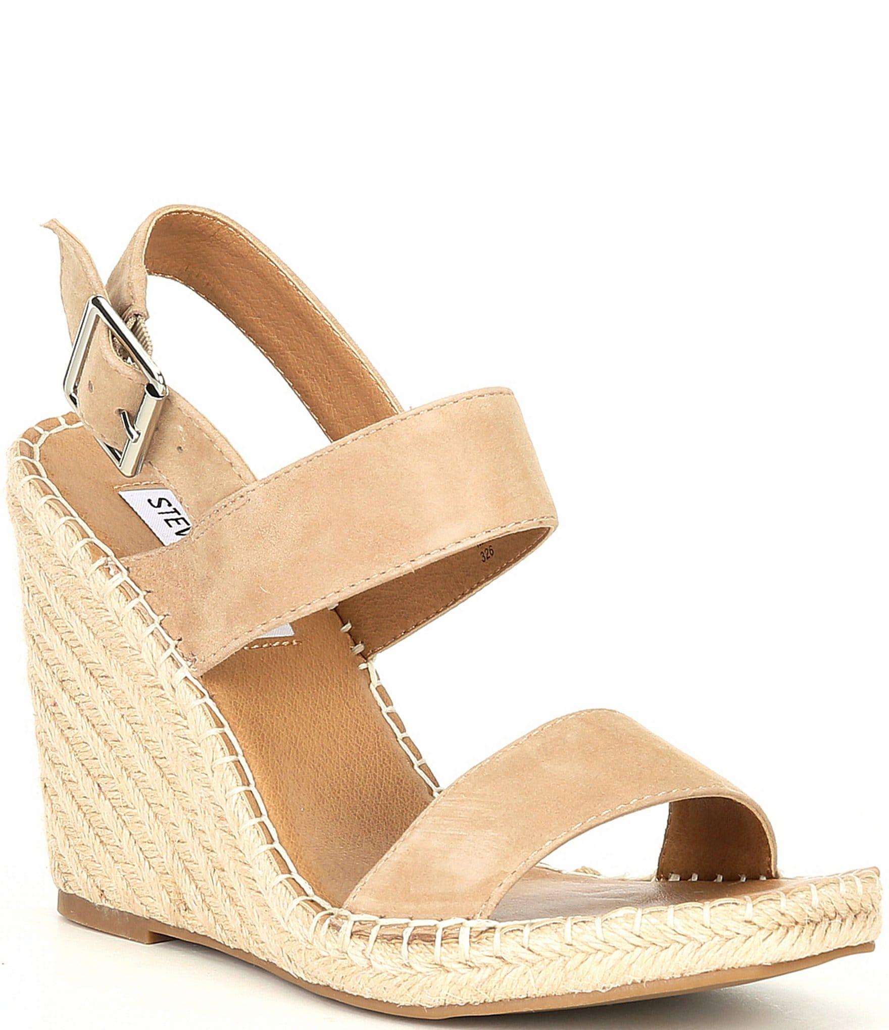 Steve Madden Uri Suede Espadrille Wedge Sandals | Dillard's
