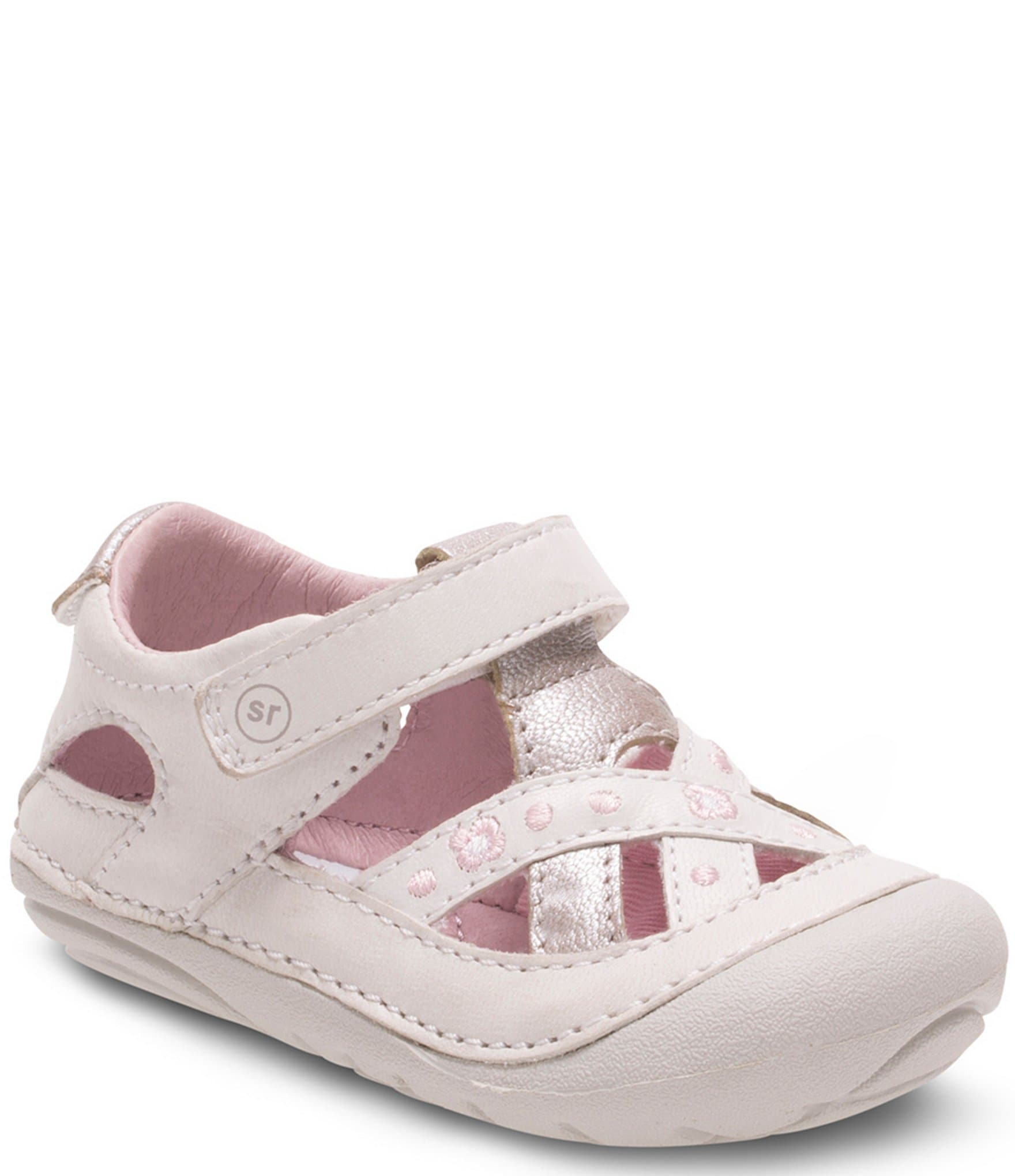 Stride Rite Girl White Shoes