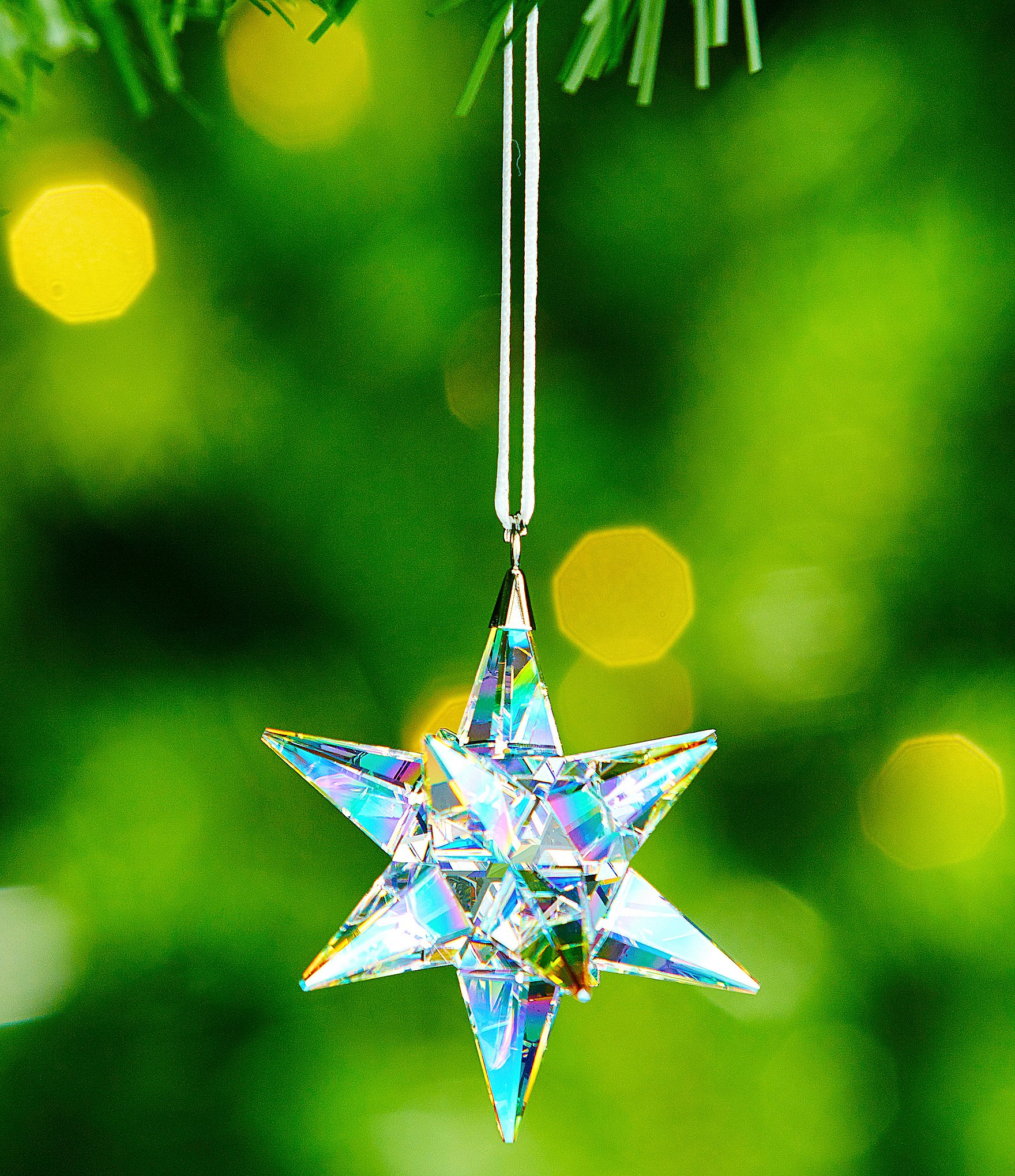 Swarovski Aurora Borealis Crystal Star Ornament Dillards