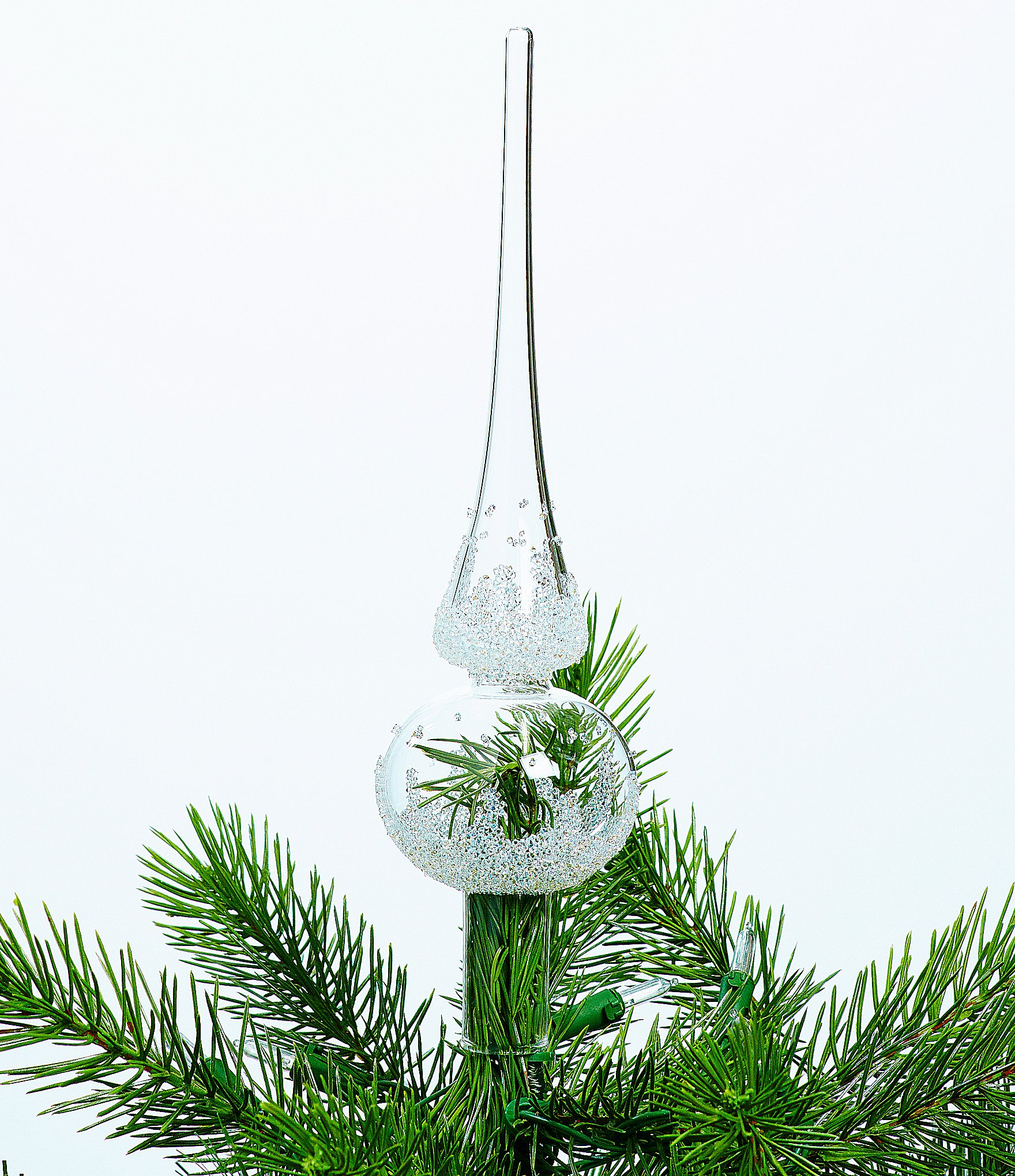 Christmas Tree Topper.Swarovski Crystal Glass Christmas Tree Topper Dillard S