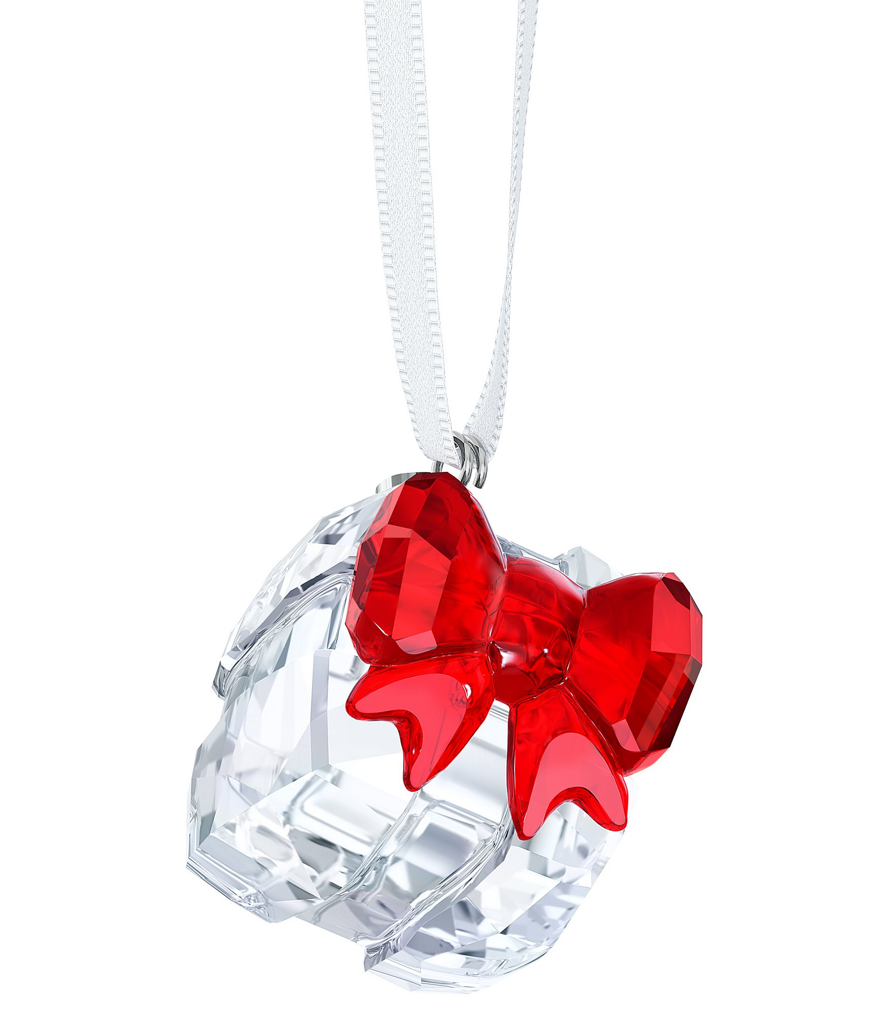 Swarovski crystal christmas gift ornament dillards for Christmas ornament sale clearance