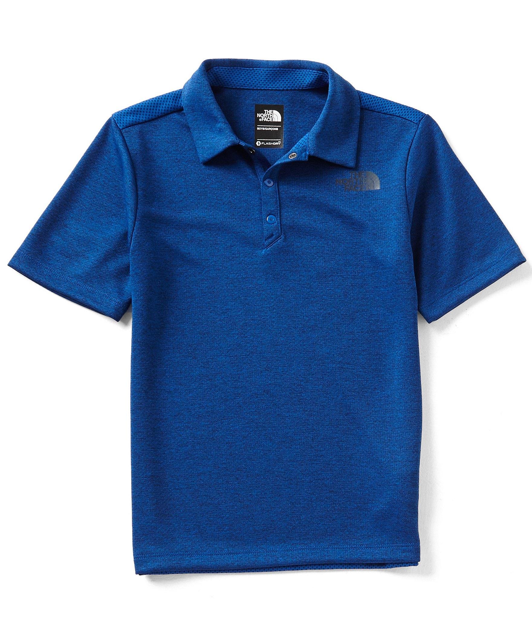 The north face big boys 8 20 piqu polo shirt dillards for Cobalt blue polo shirt