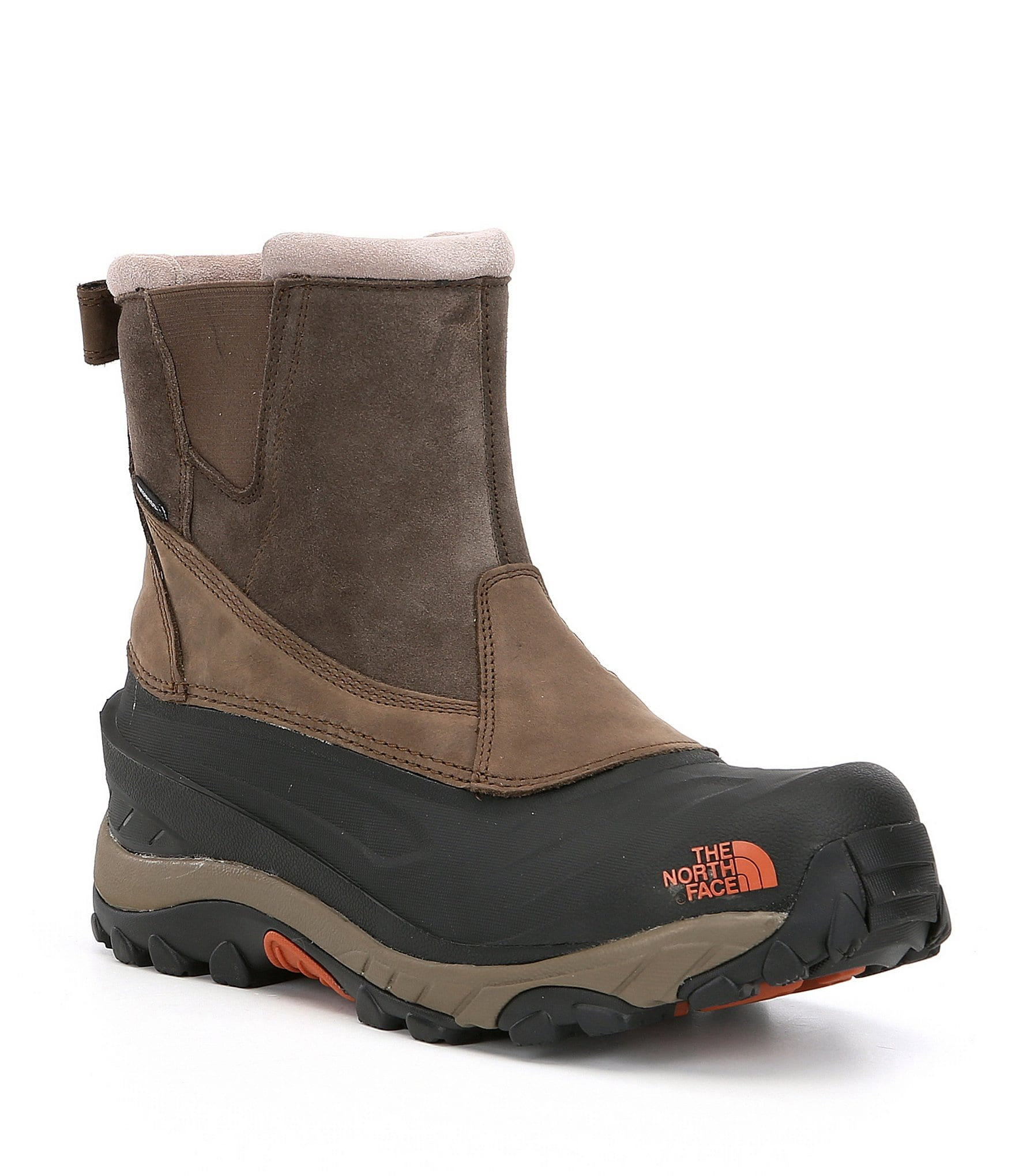 the north face men 39 s chilkat iii pull on waterproof cold weather mid boots dillards. Black Bedroom Furniture Sets. Home Design Ideas
