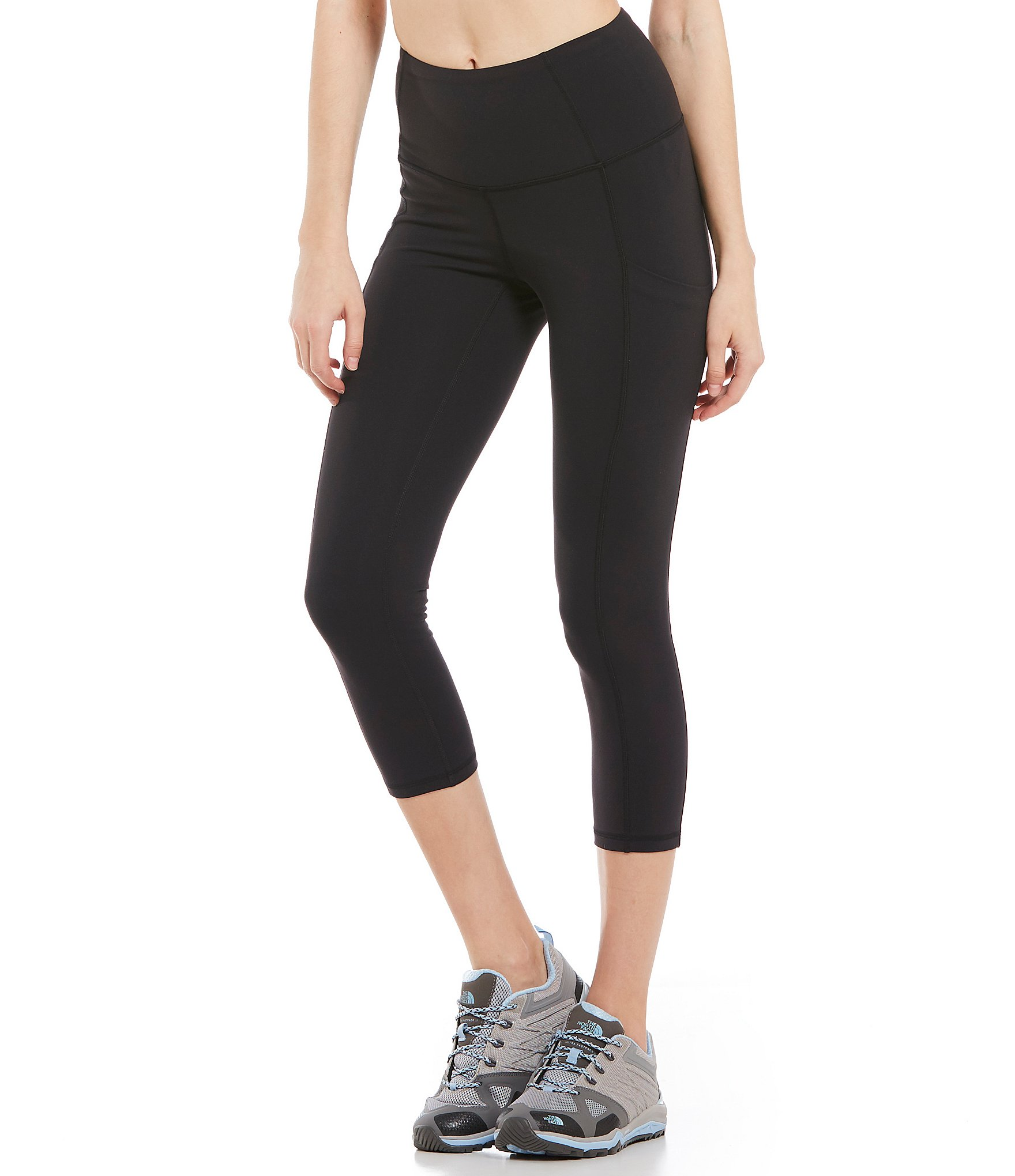 15751c6655 The North Face Motivation High-Rise Pocket Crop Leggings | Dillard's