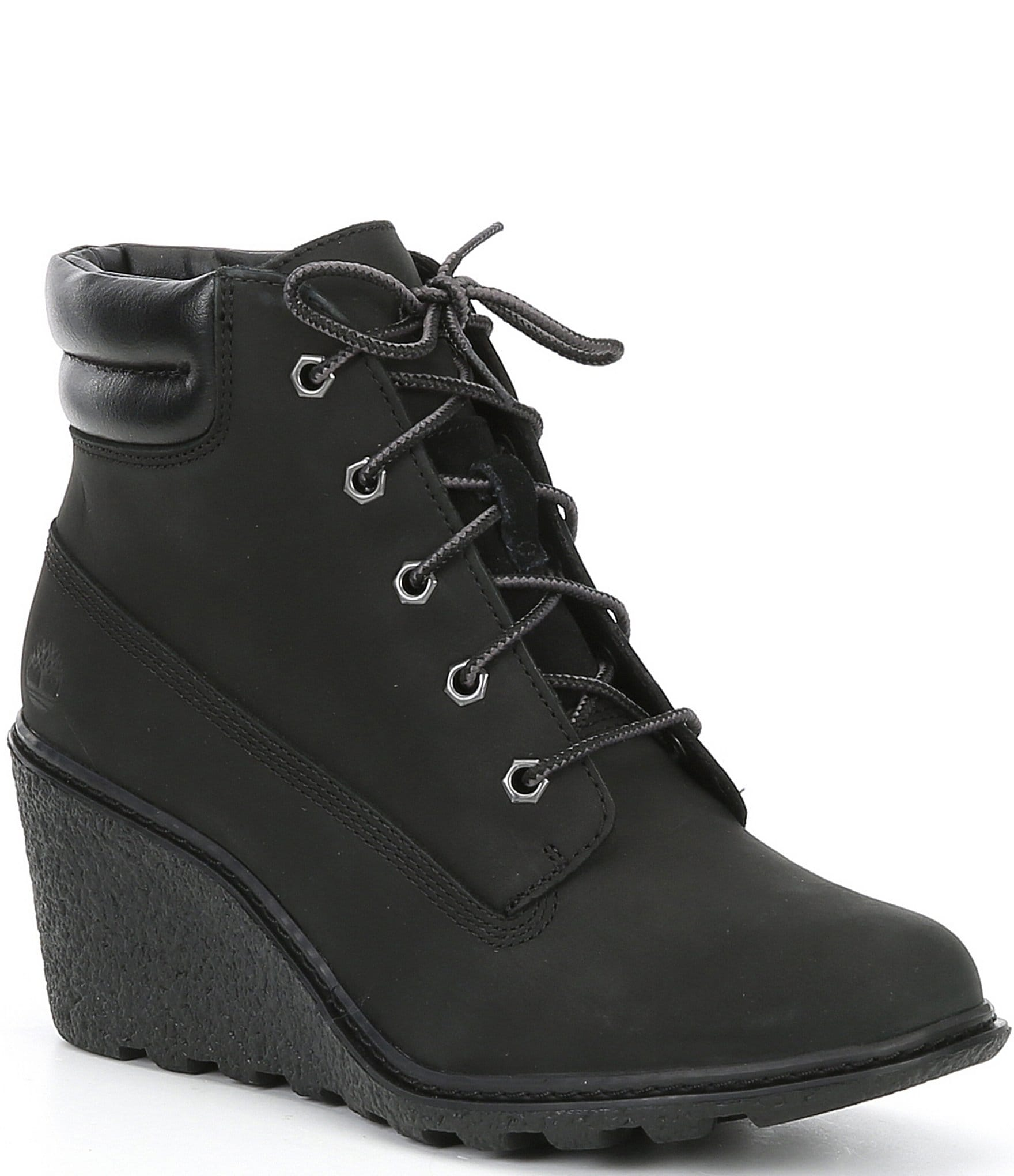 Timberland Amston Wedge Suede Leather