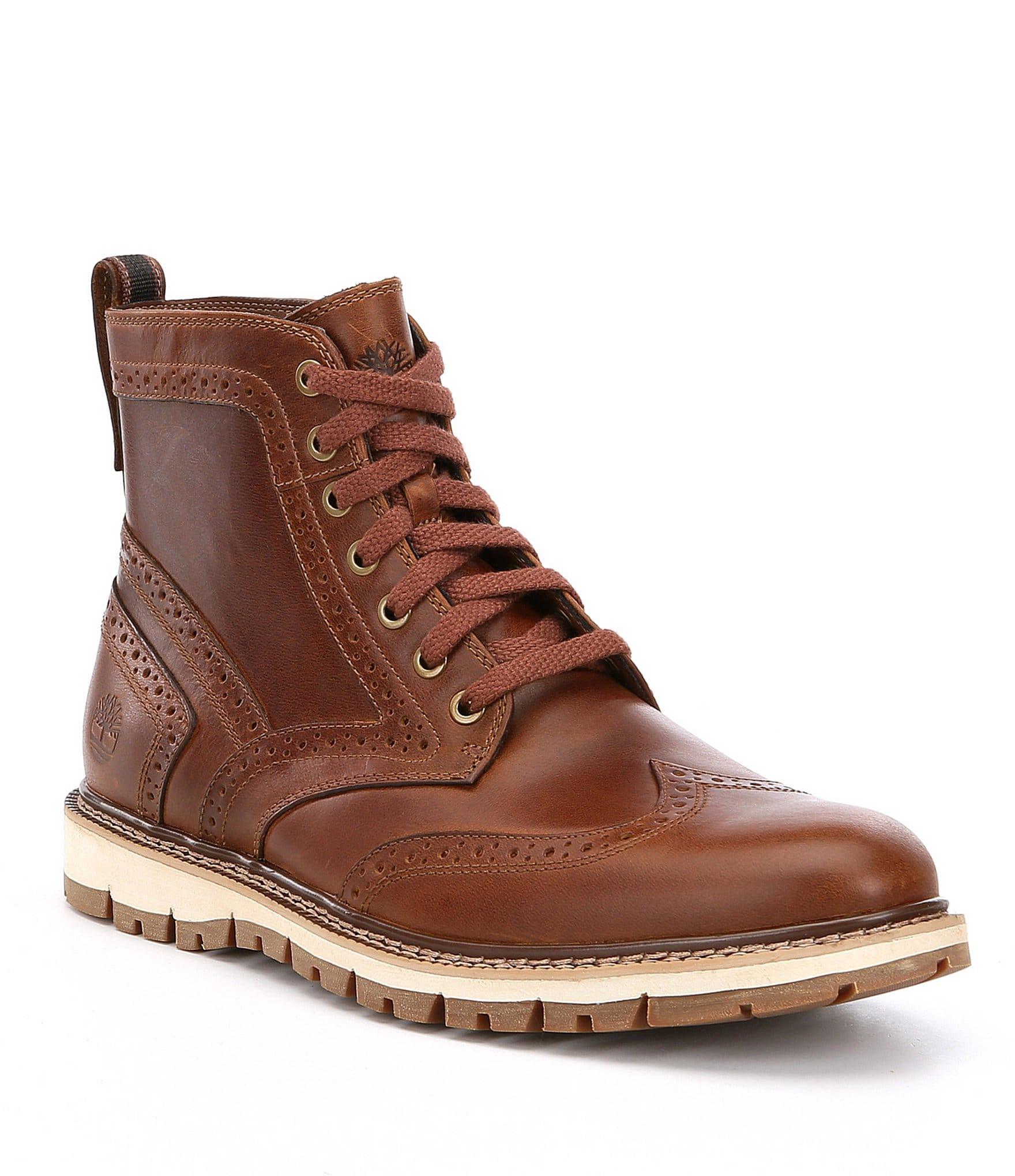 timberland men 39 s britton hill wingtip boots dillards. Black Bedroom Furniture Sets. Home Design Ideas