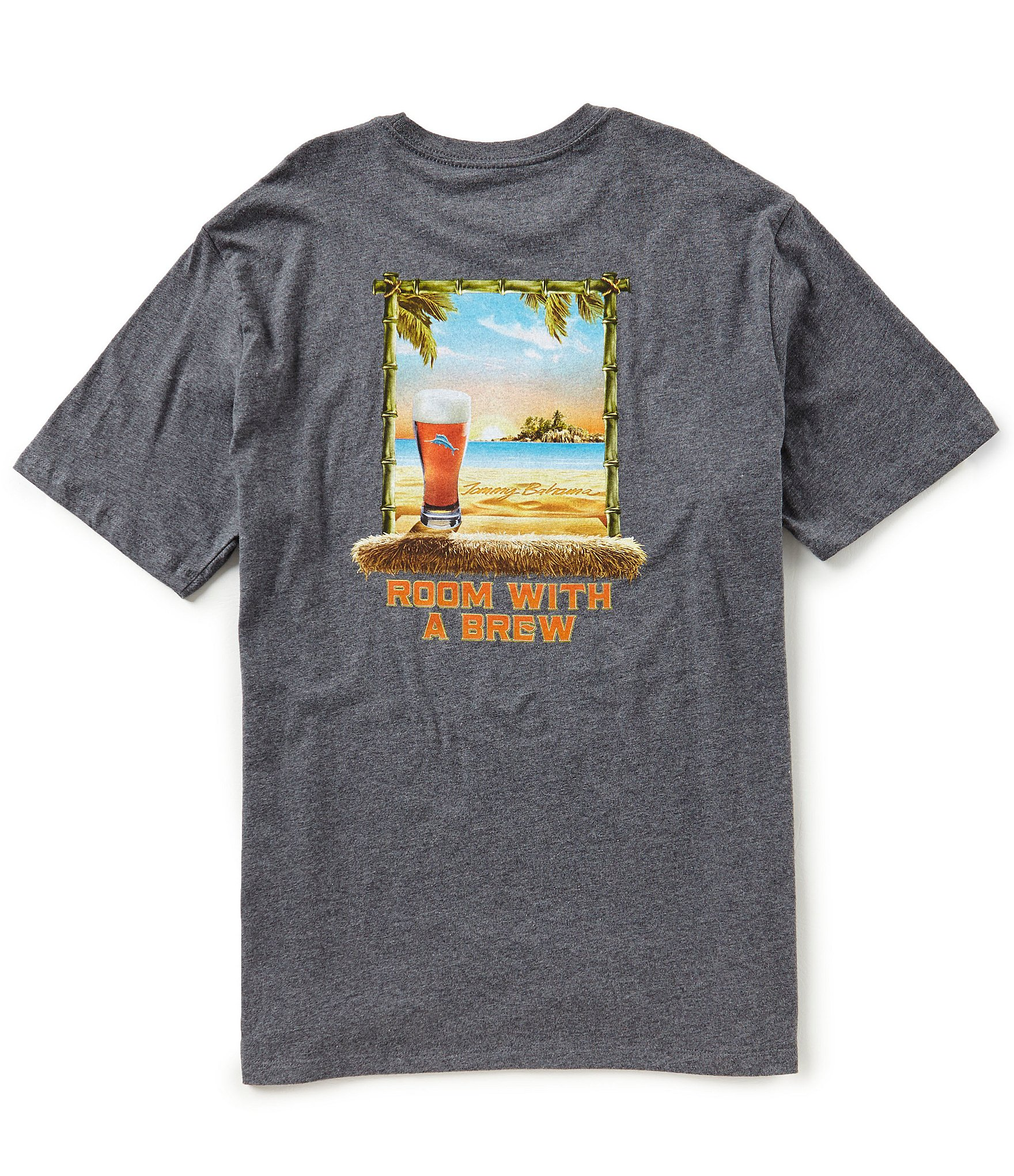 Tommy bahama big tall room with a brew short sleeve tee for Do tommy bahama shirts run big