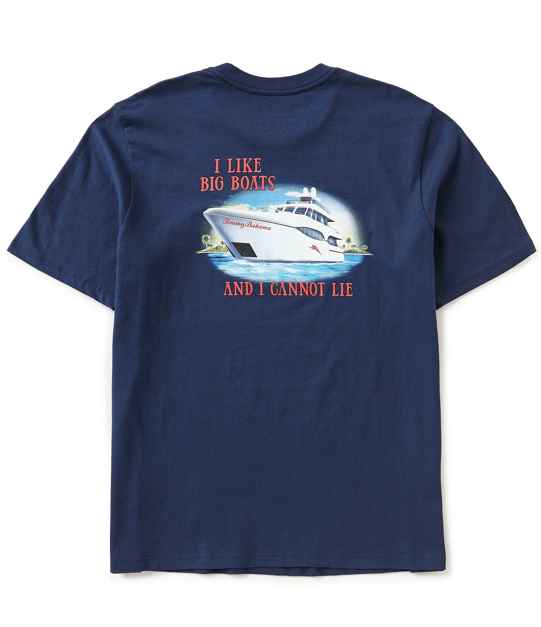 Tommy bahama big boats short sleeve tee dillards for Do tommy bahama shirts run big