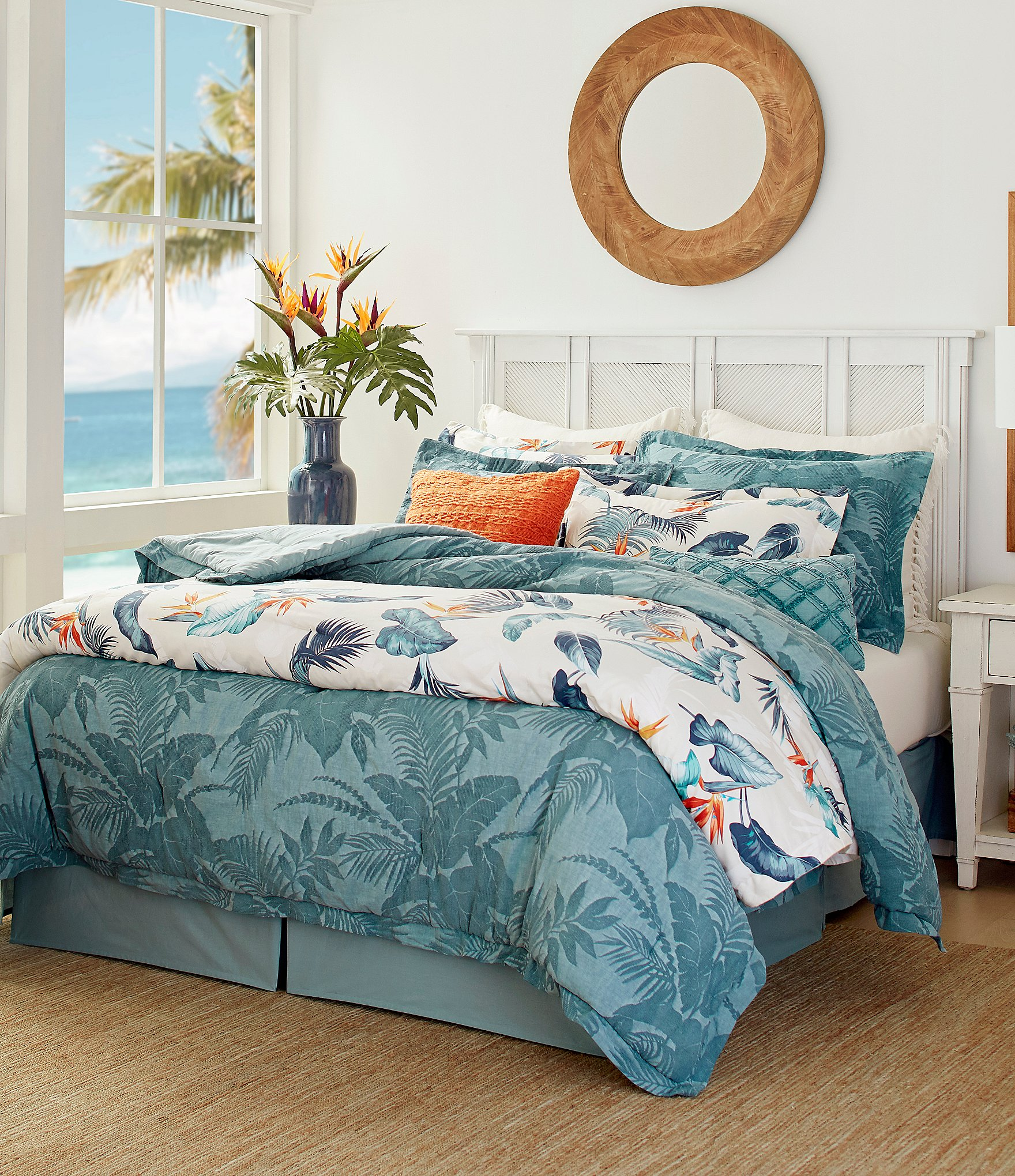 Picture of: Tommy Bahama Blue Abalone Comforter Set Dillard S
