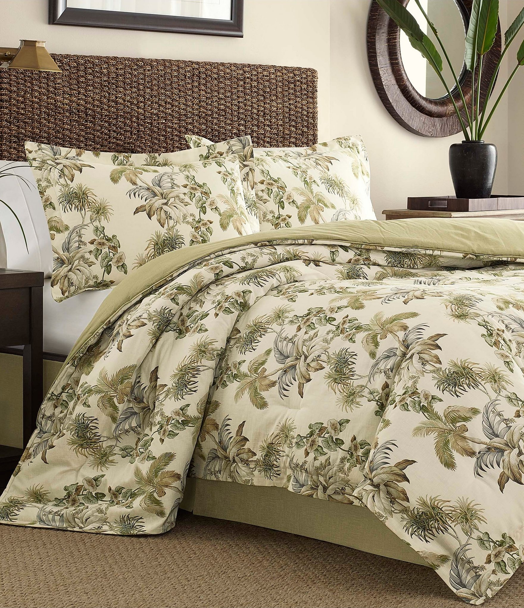 Picture of: Tommy Bahama Nador Tropical Palm Comforter Set Dillard S
