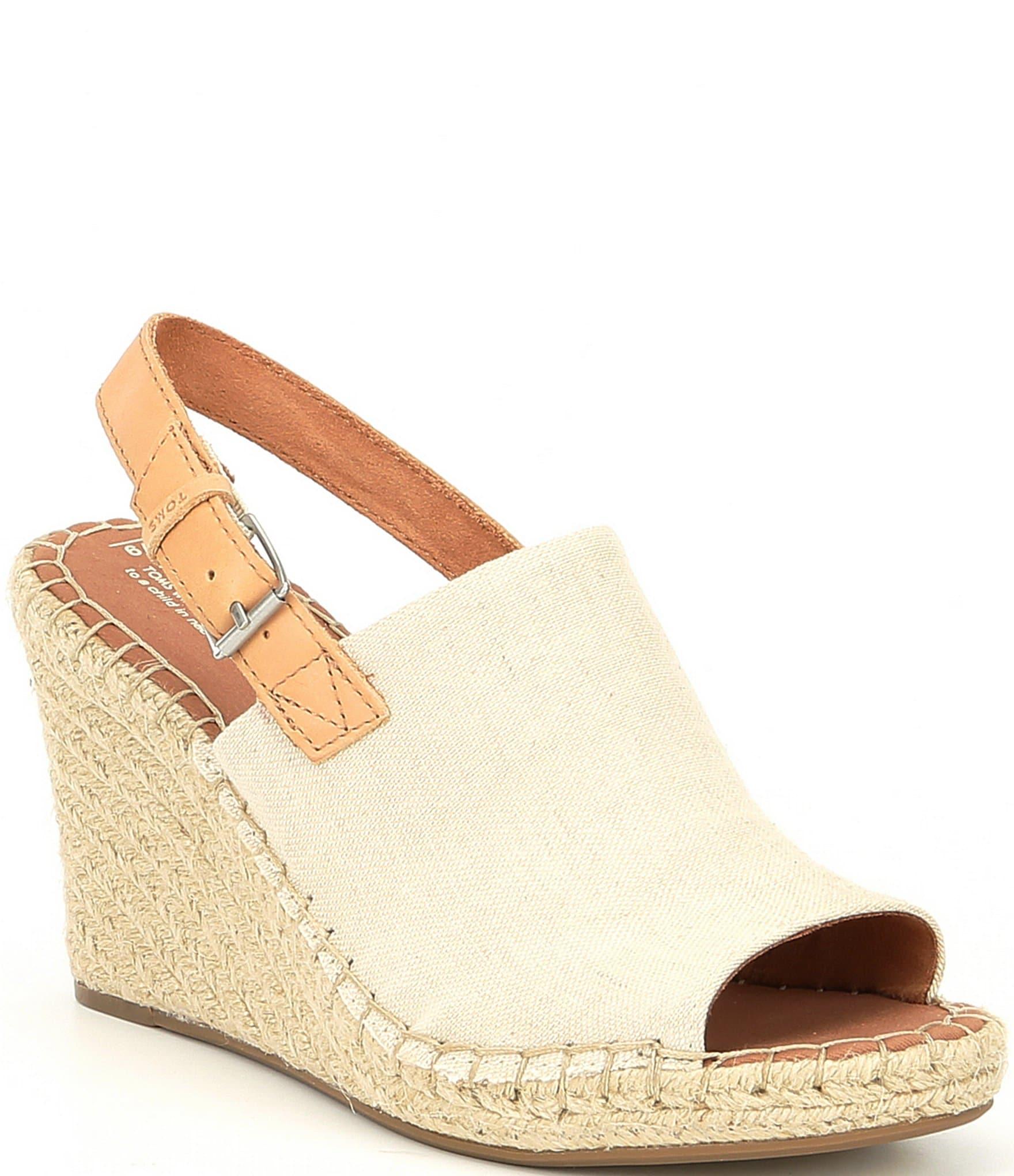 332c83ae9639 TOMS Monica Hemp Wedge Espadrille Sandals