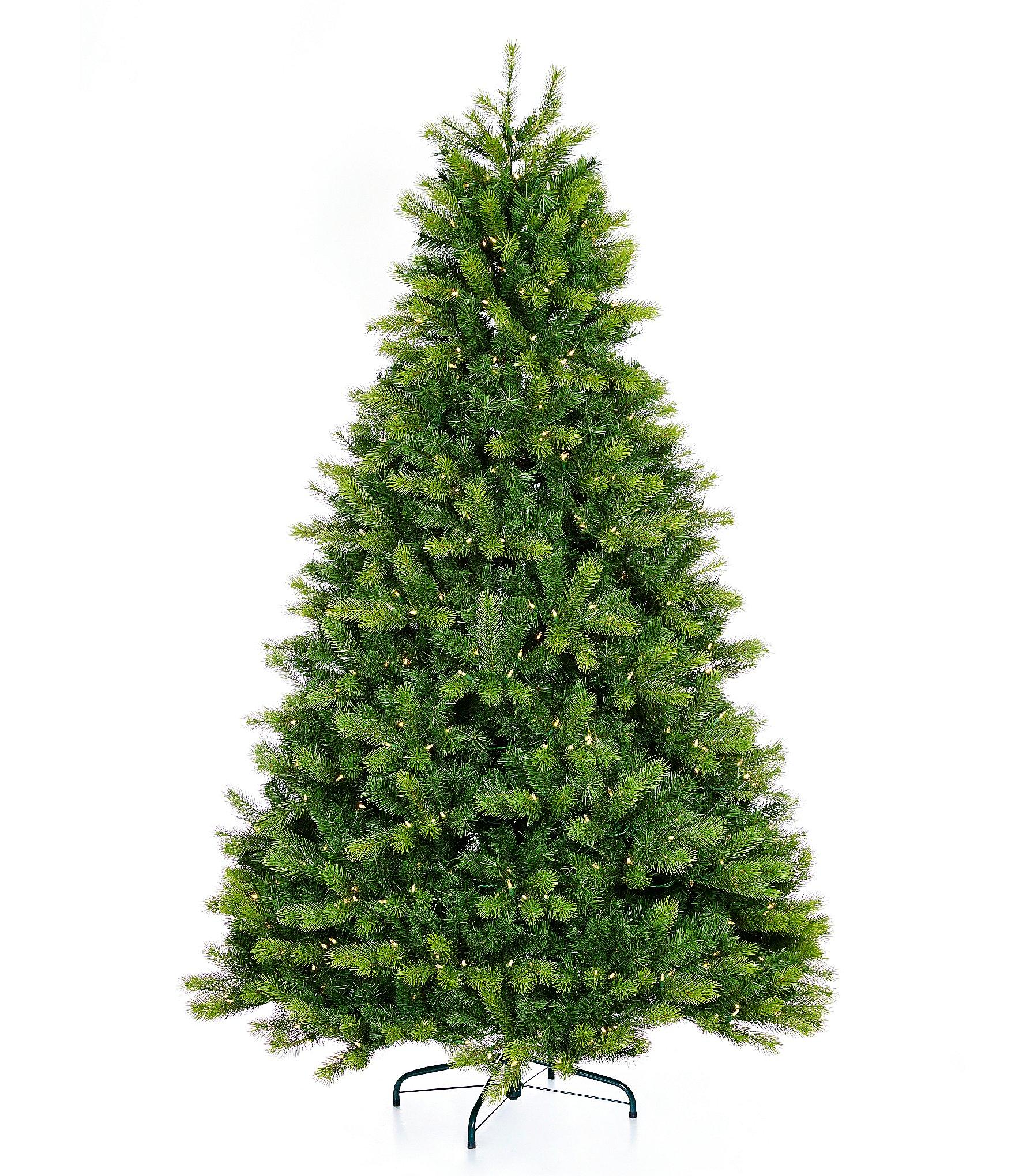 Trimsetter 7 5 Ft Pre Lit Kensington Fir Christmas Tree