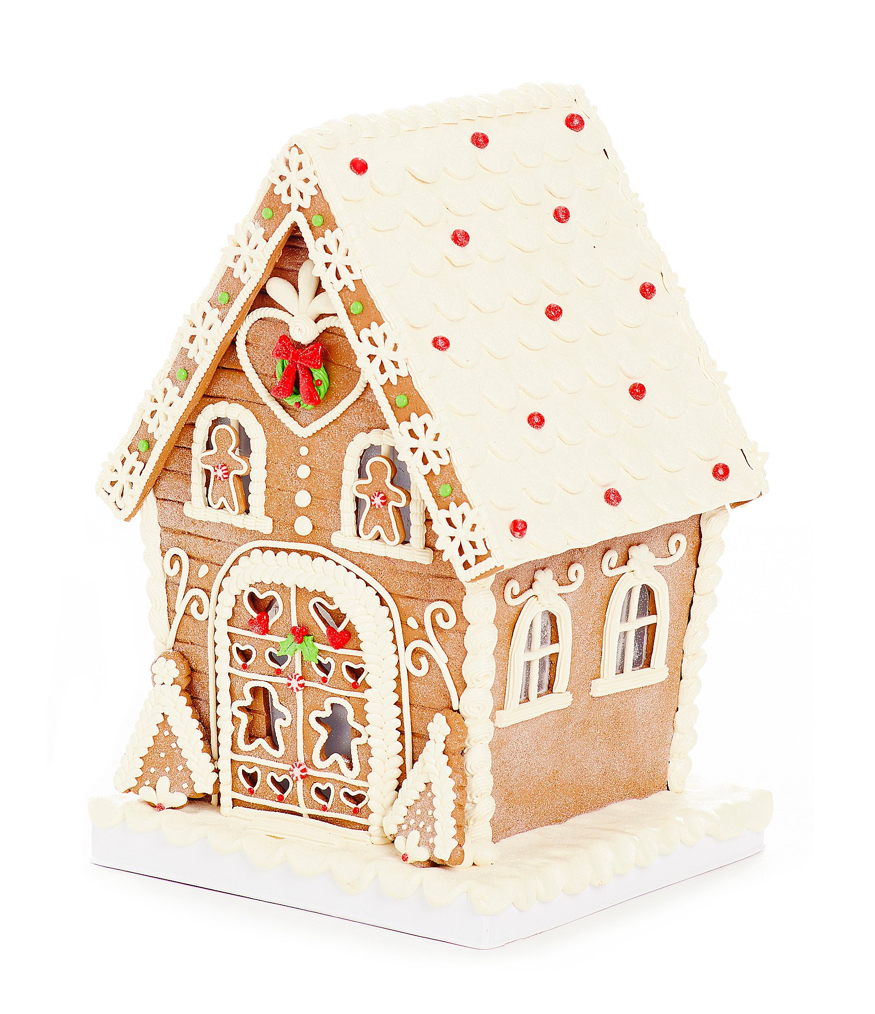 Lighted gingerbread house sale 28 images christmas for Gingerbread trim for sale