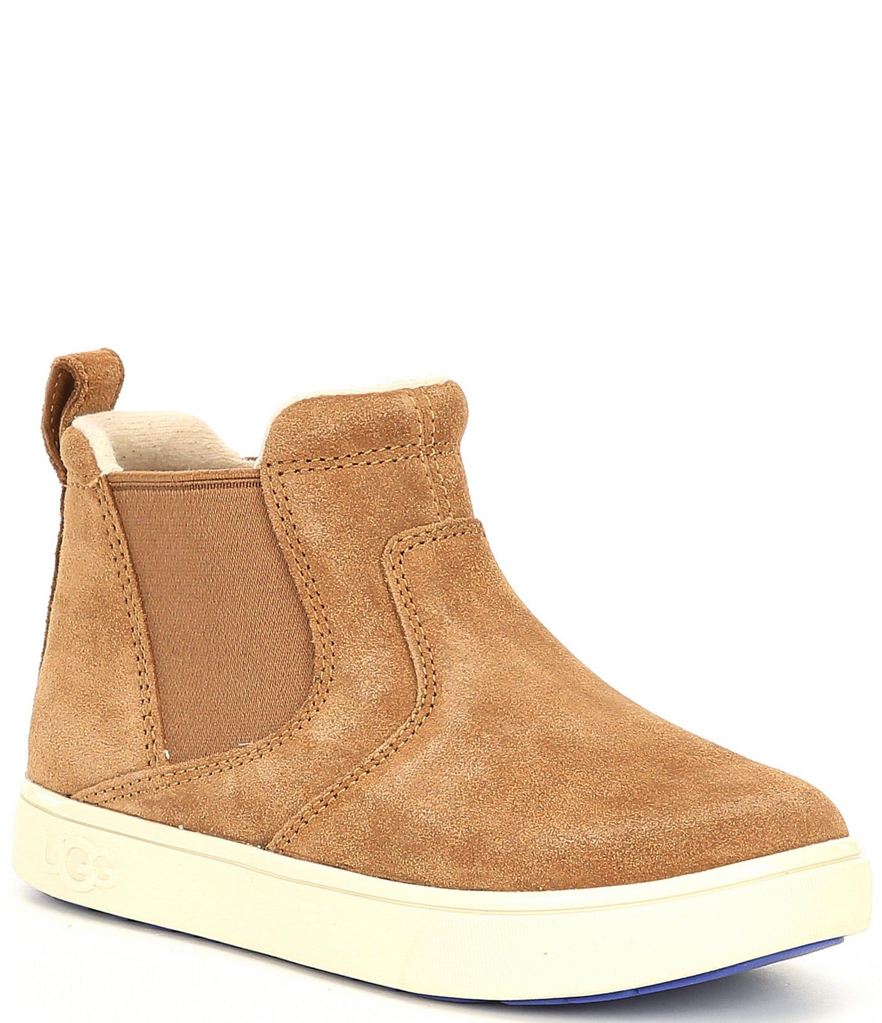 UGG® Boys' Hamden II Suede Sneaker