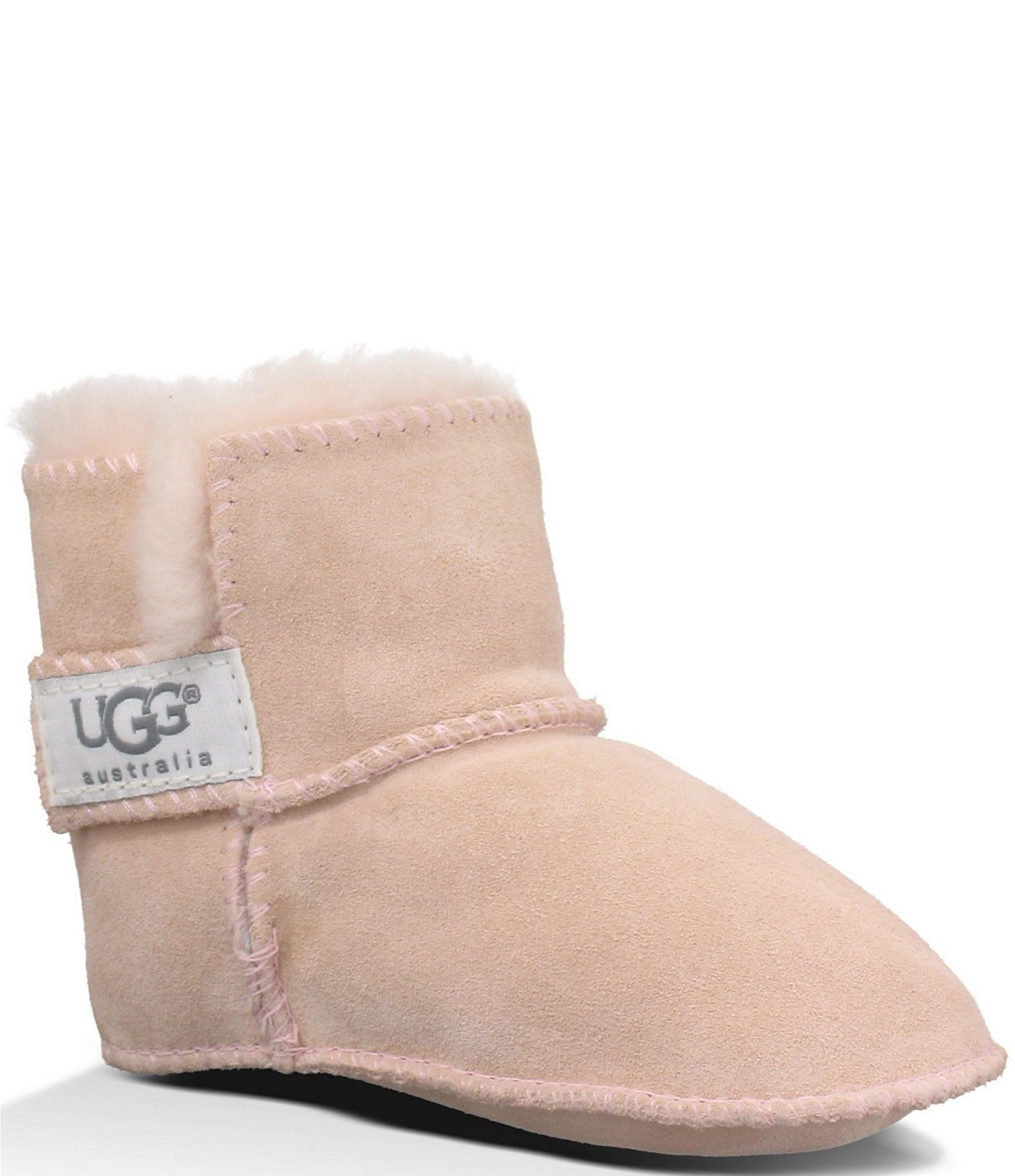 112b3bad22a UGG® Erin Infant Girls' Suede Crib Shoes