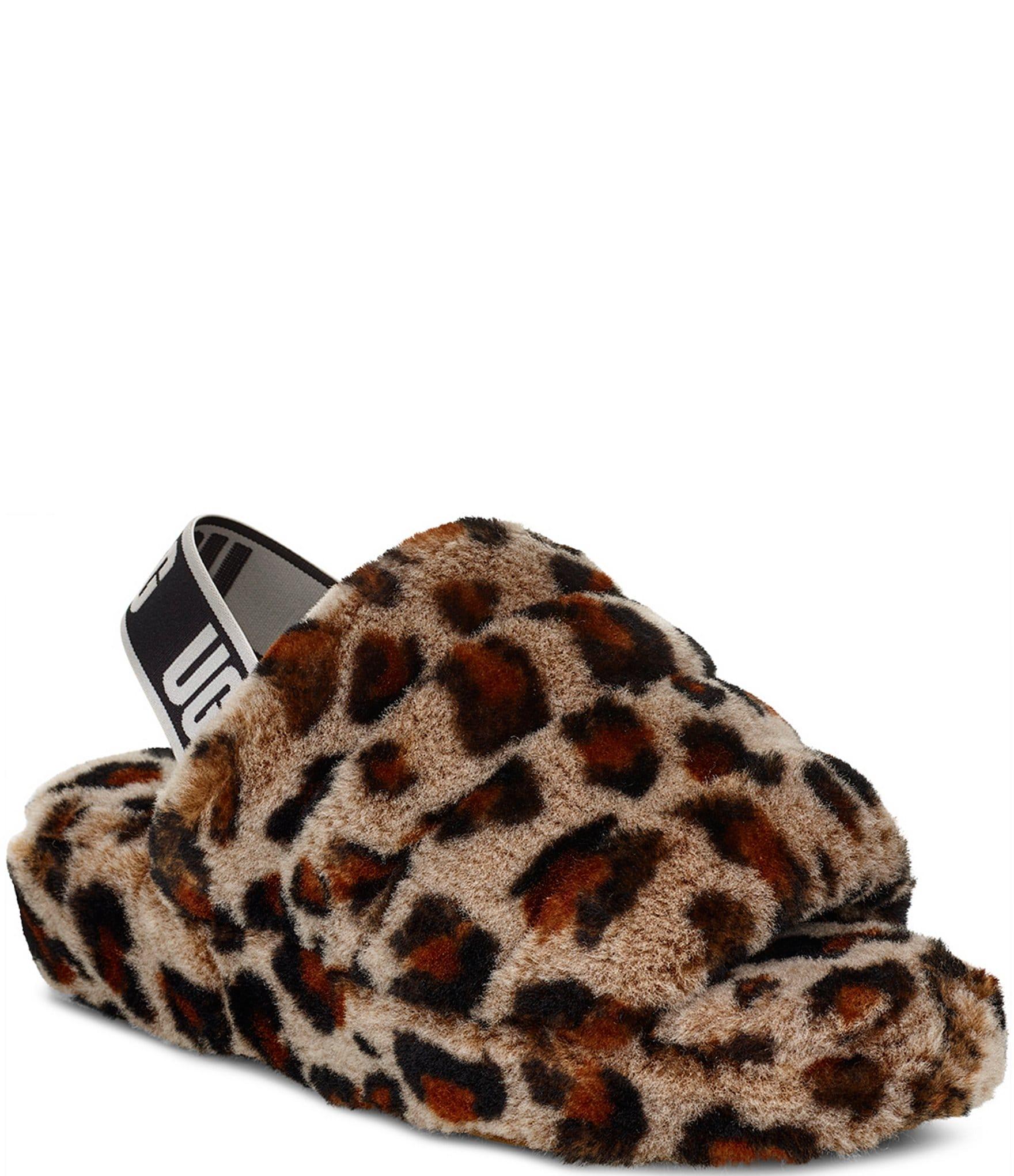 UGG® Fluff Yeah Leopard Slides | Dillard's