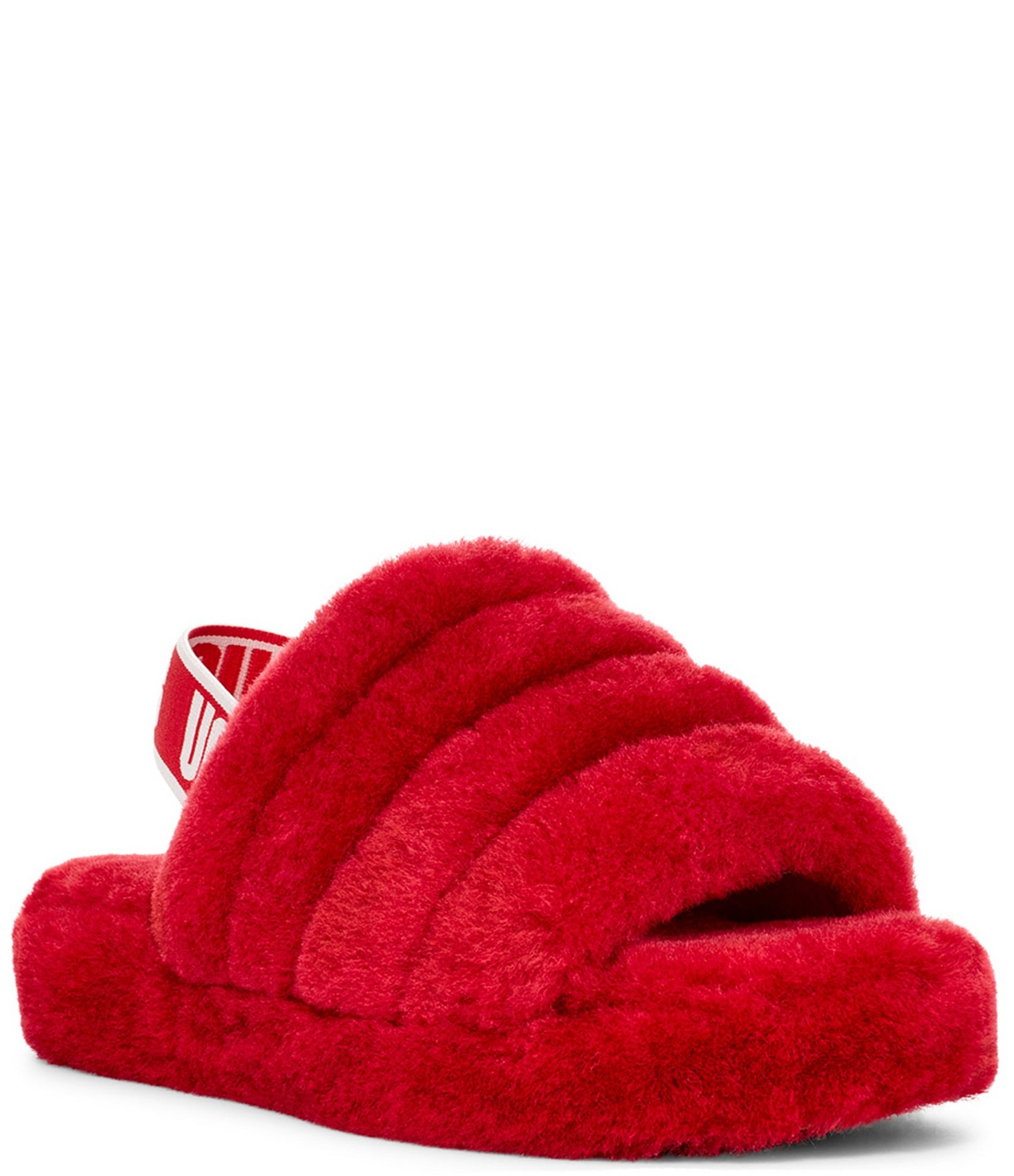 black and red ugg slippers off 60