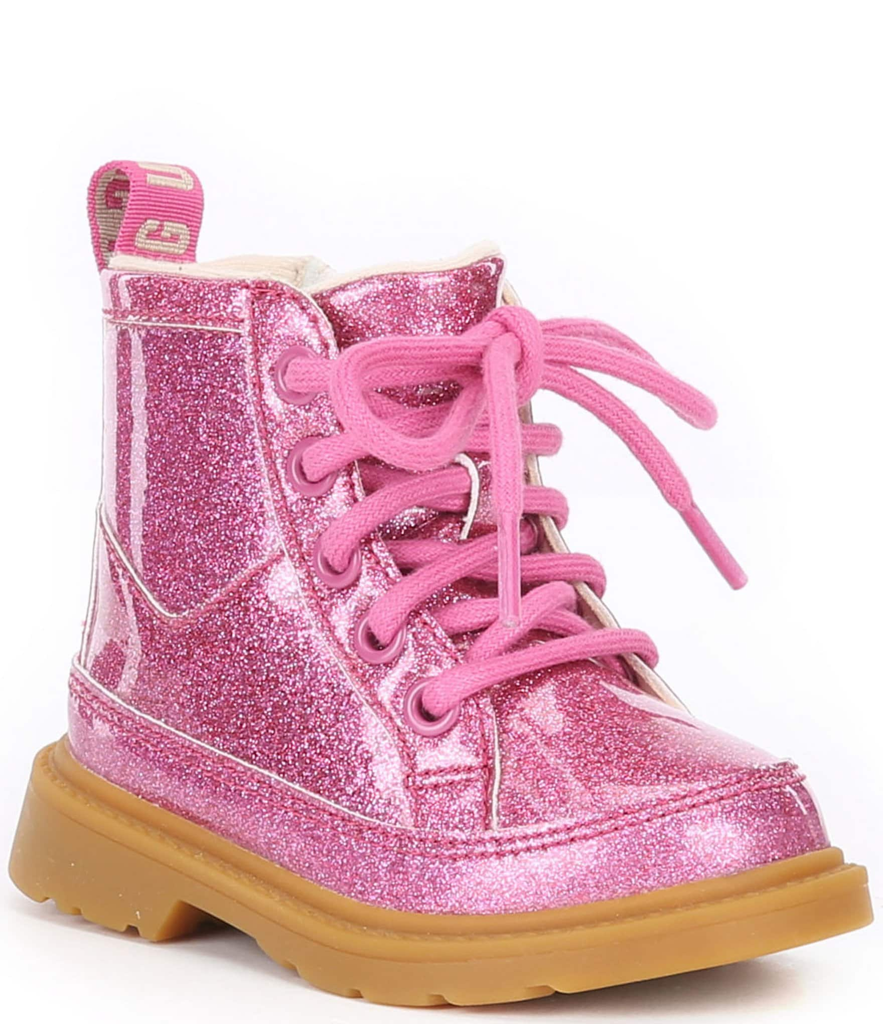 boots with laces for girls
