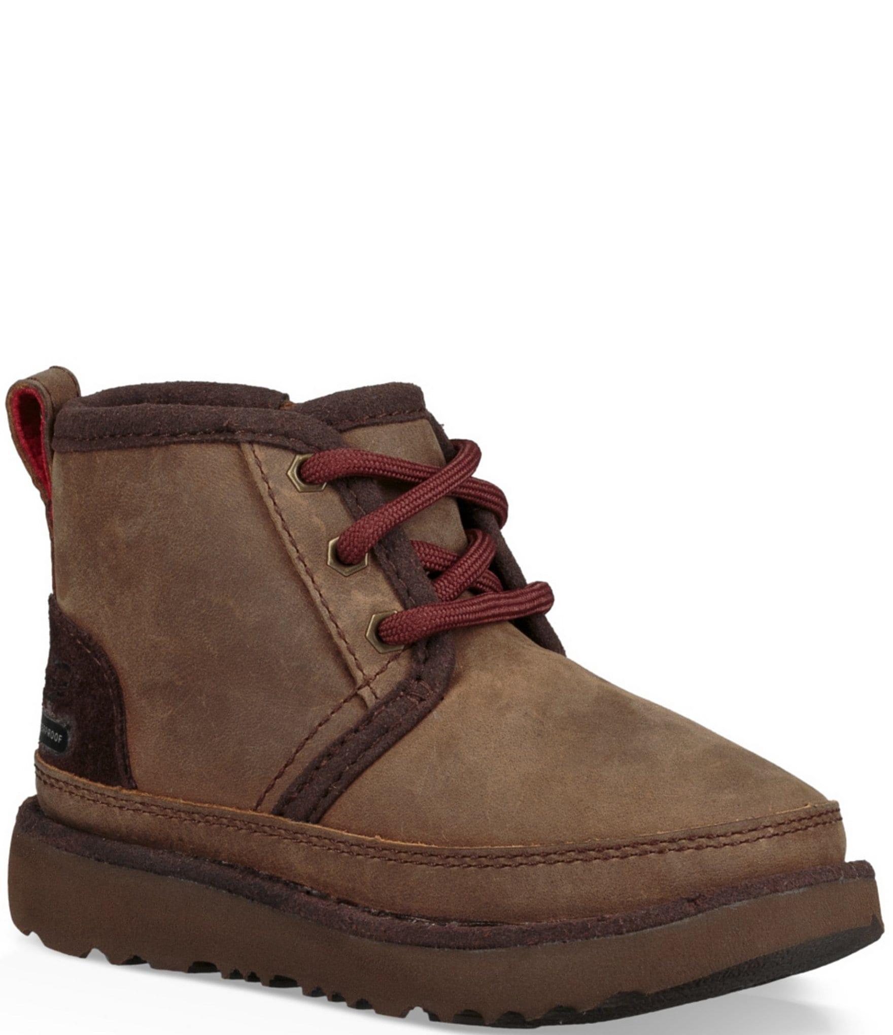 Boys' Neumel II Waterproof Suede Boots