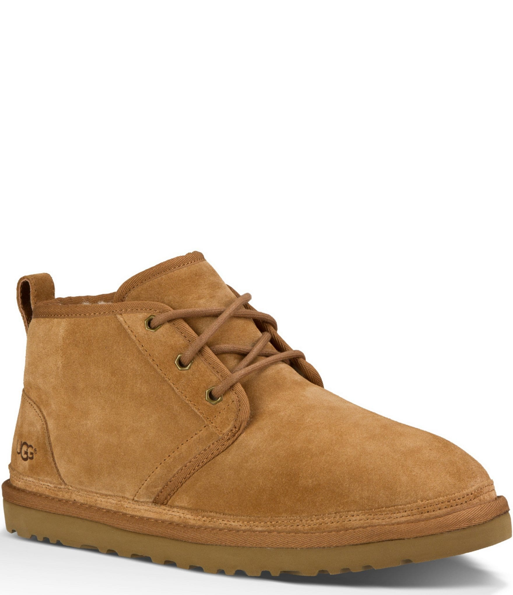 Ugg 174 Men S Neumel Classic Fur Lined Suede Lace Up Chukka