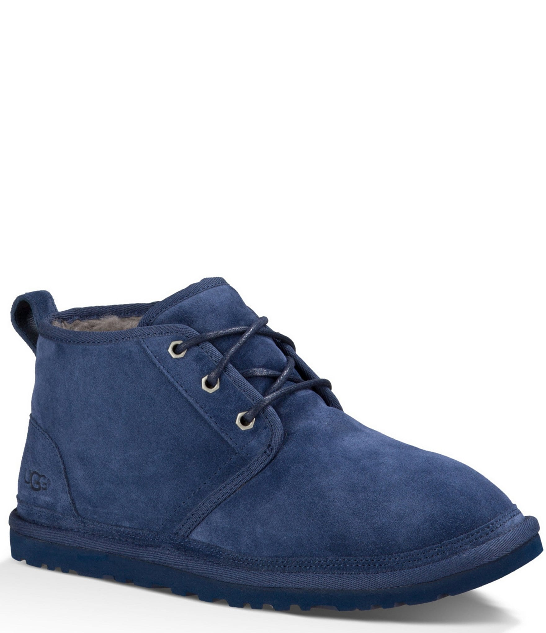 Ugg 174 Mens Neumel Classic Fur Lined Lace Up Chukka Boots