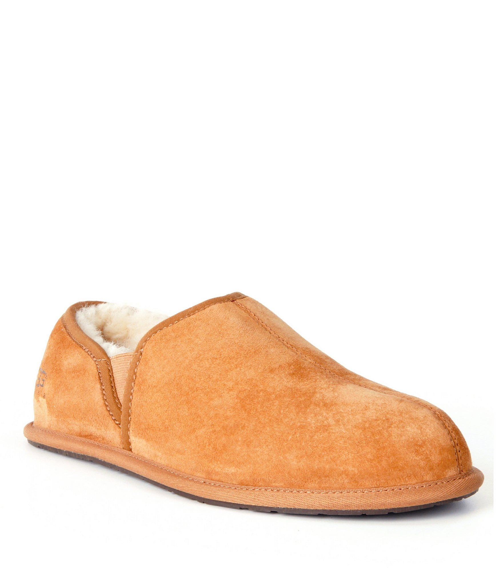 70c70308eef UGG® Men's Scuff Romeo II Suede Sheepskin Lined Slip On Slipper