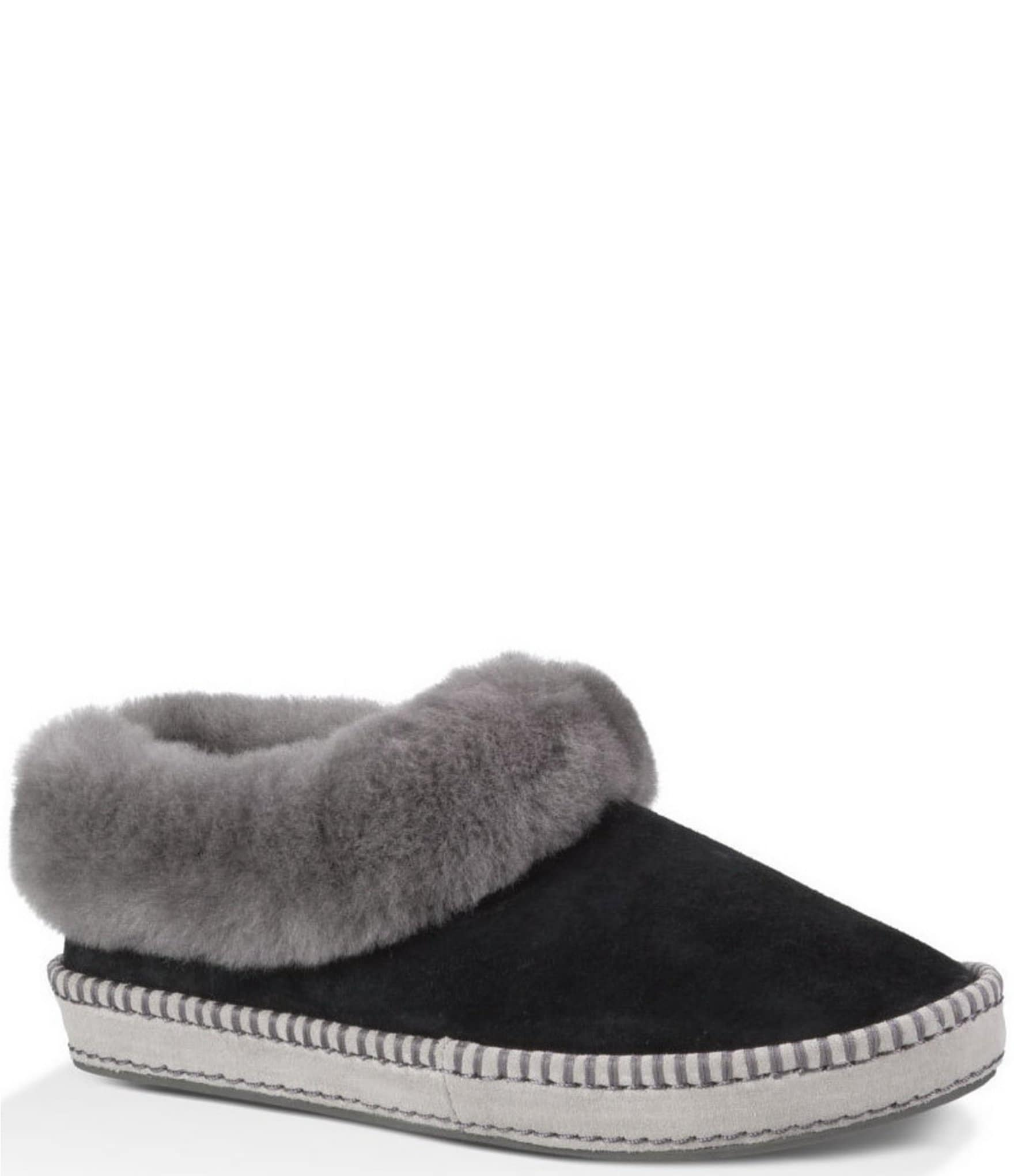 2a842f62586 UGG® Wrin Sheepskin Collar Water-Resistant Slippers