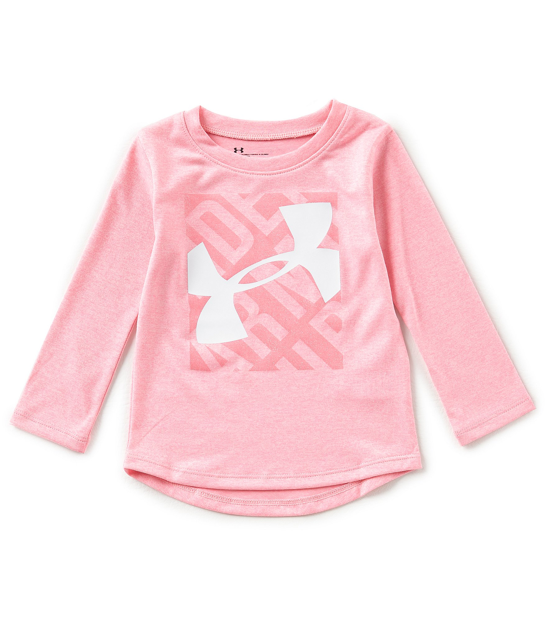 Under Armour Baby Girls 12 24 Months Logo Detailed Long