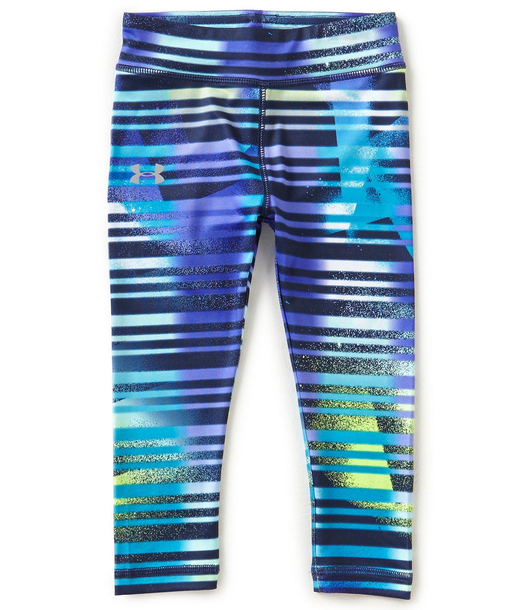 under armour little girls 2t 6x striped leggings dillards