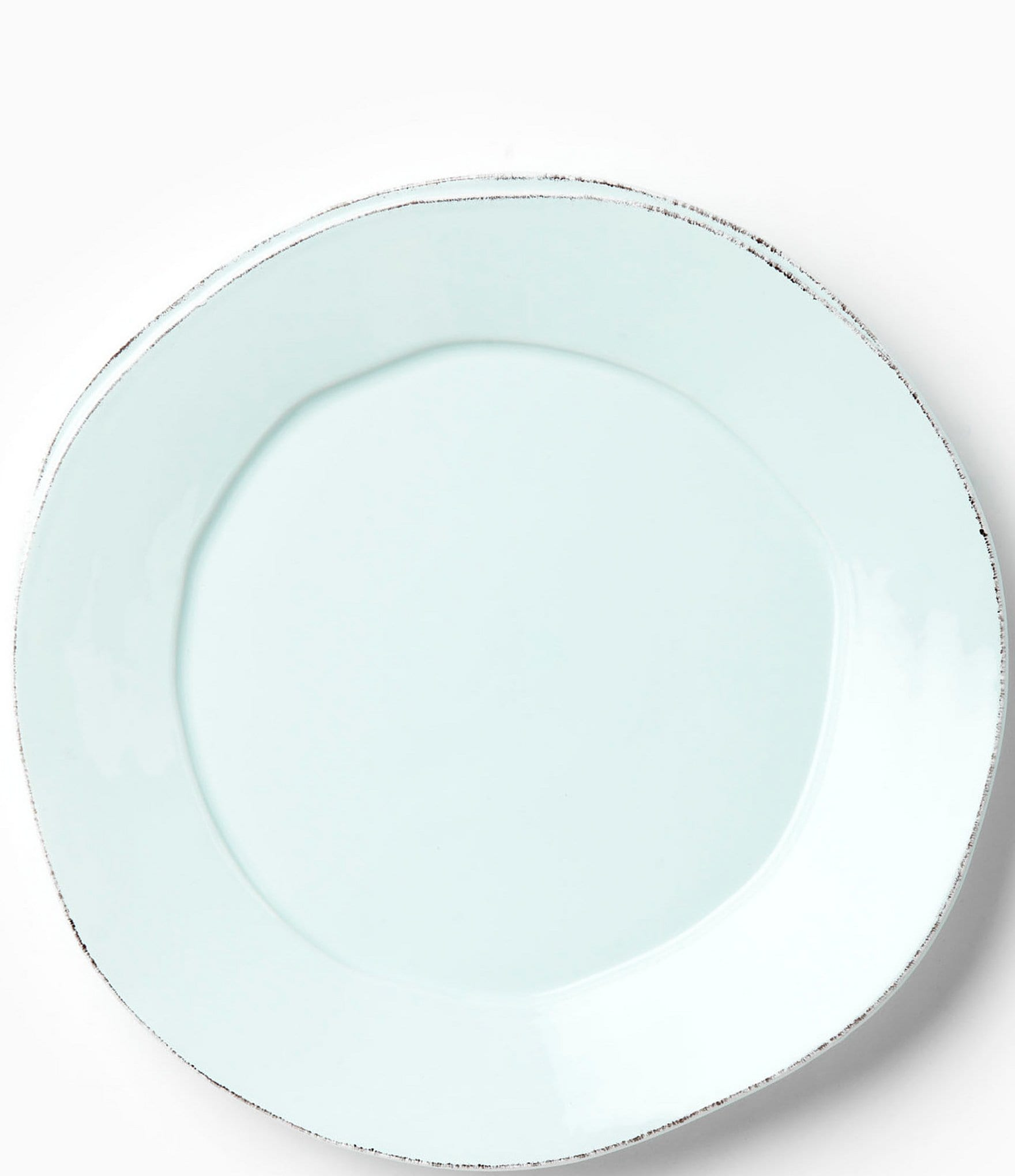 Set of 4 Vietri Lastra White Dinner Plate