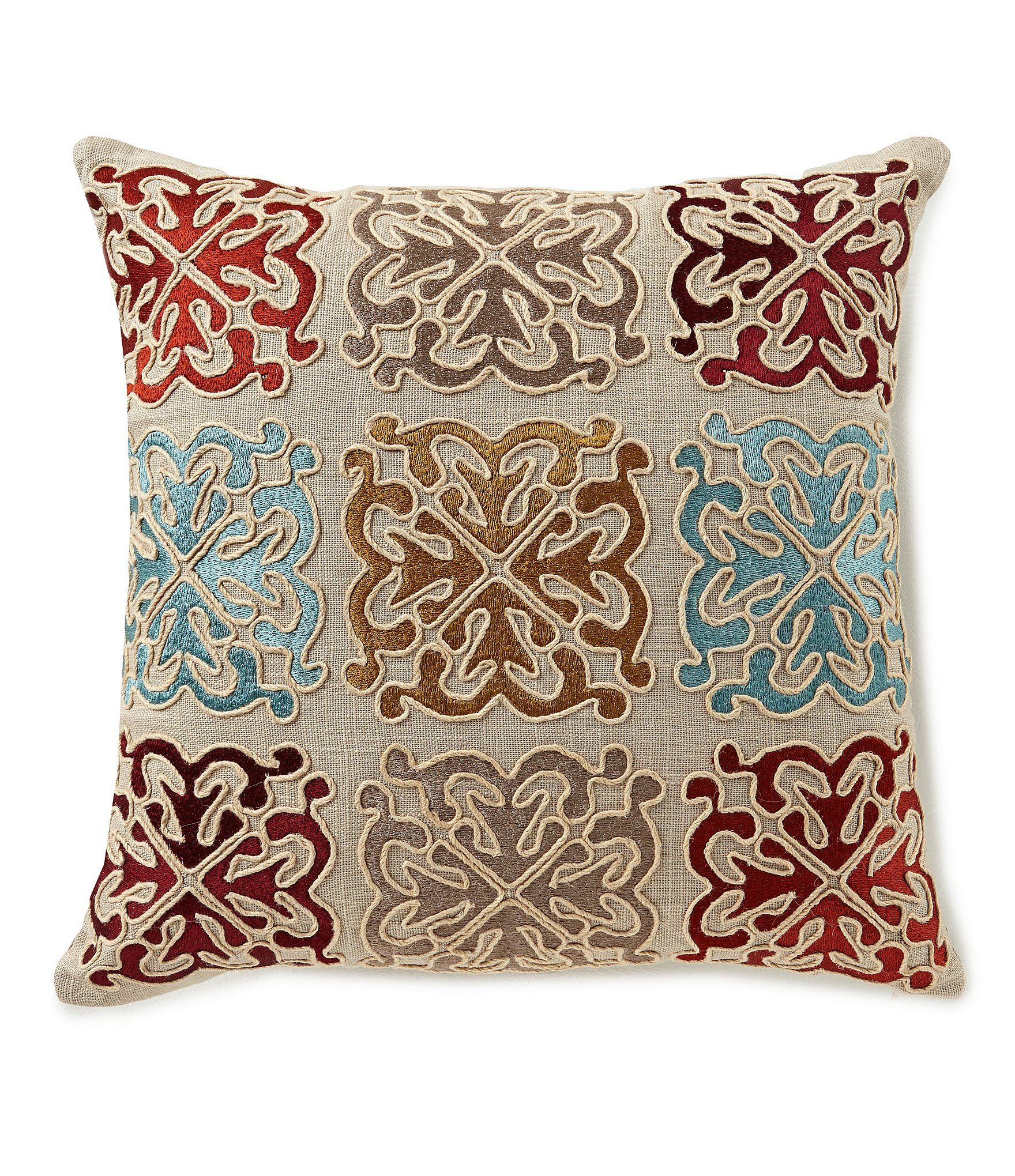 Nicole Miller Home Decorative Pillow Made In India