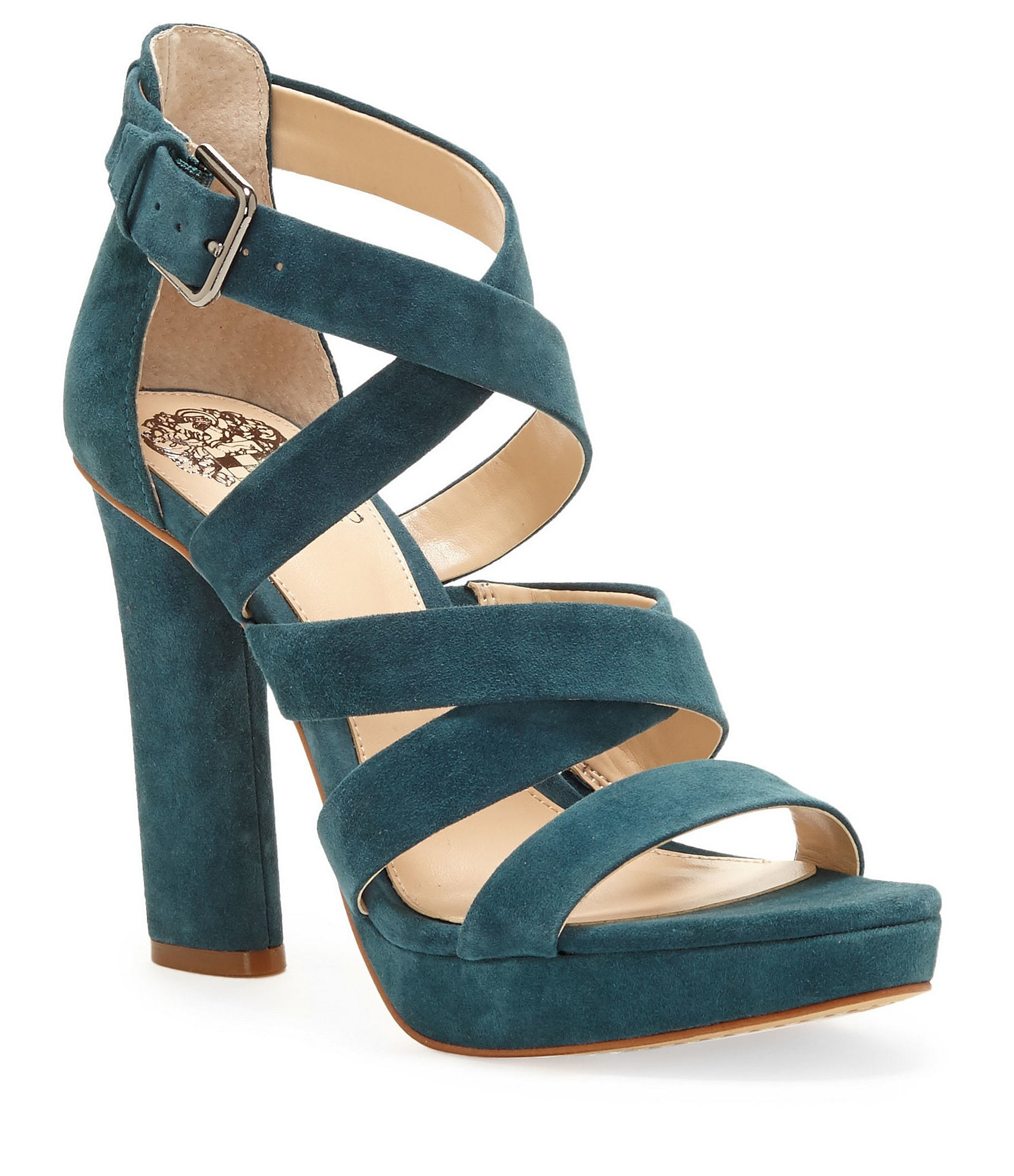 vince camuto catyna suede platform dress sandals dillards