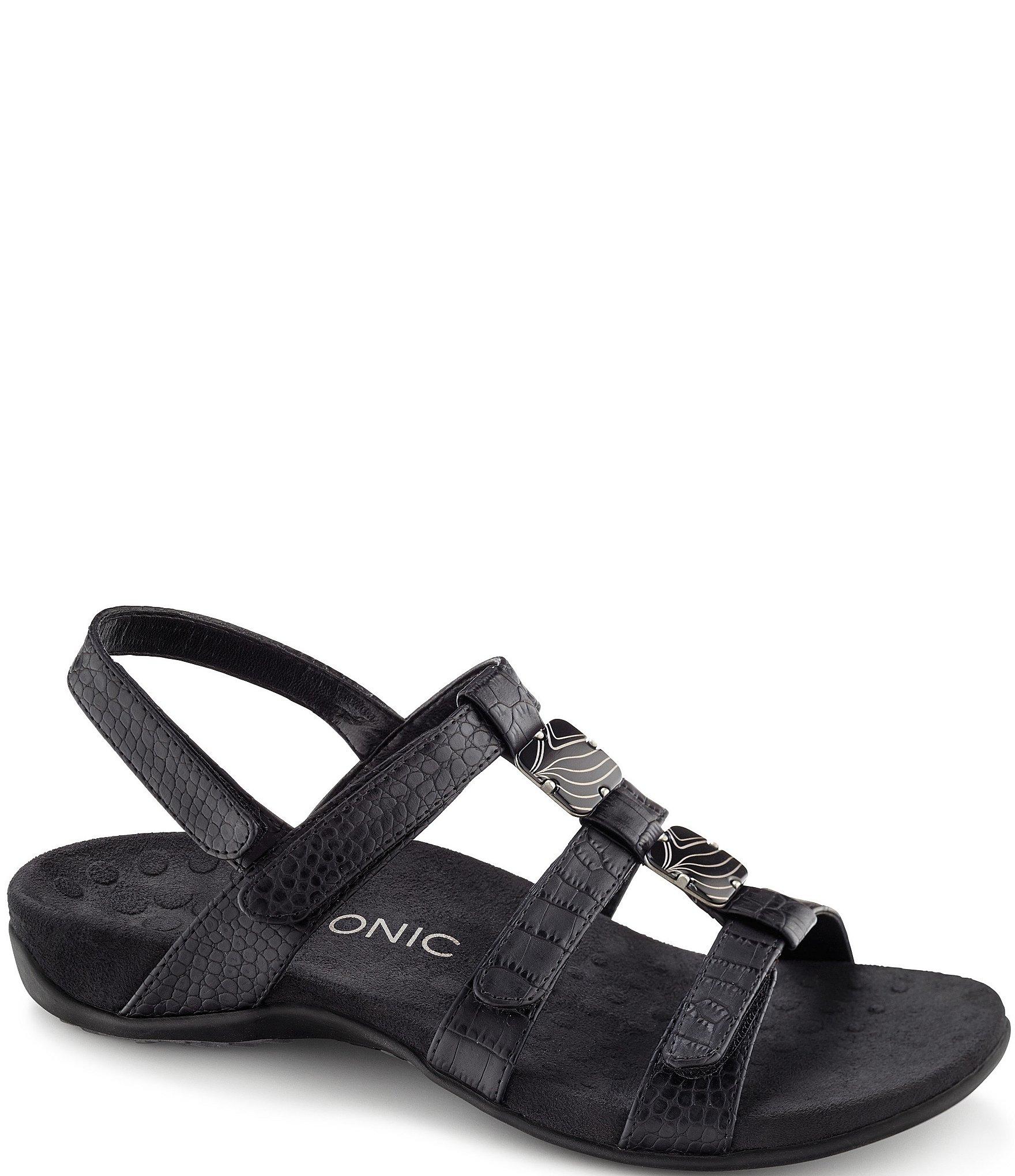 b61c4bee4c7f81 Vionic Amber Beaded Sandals
