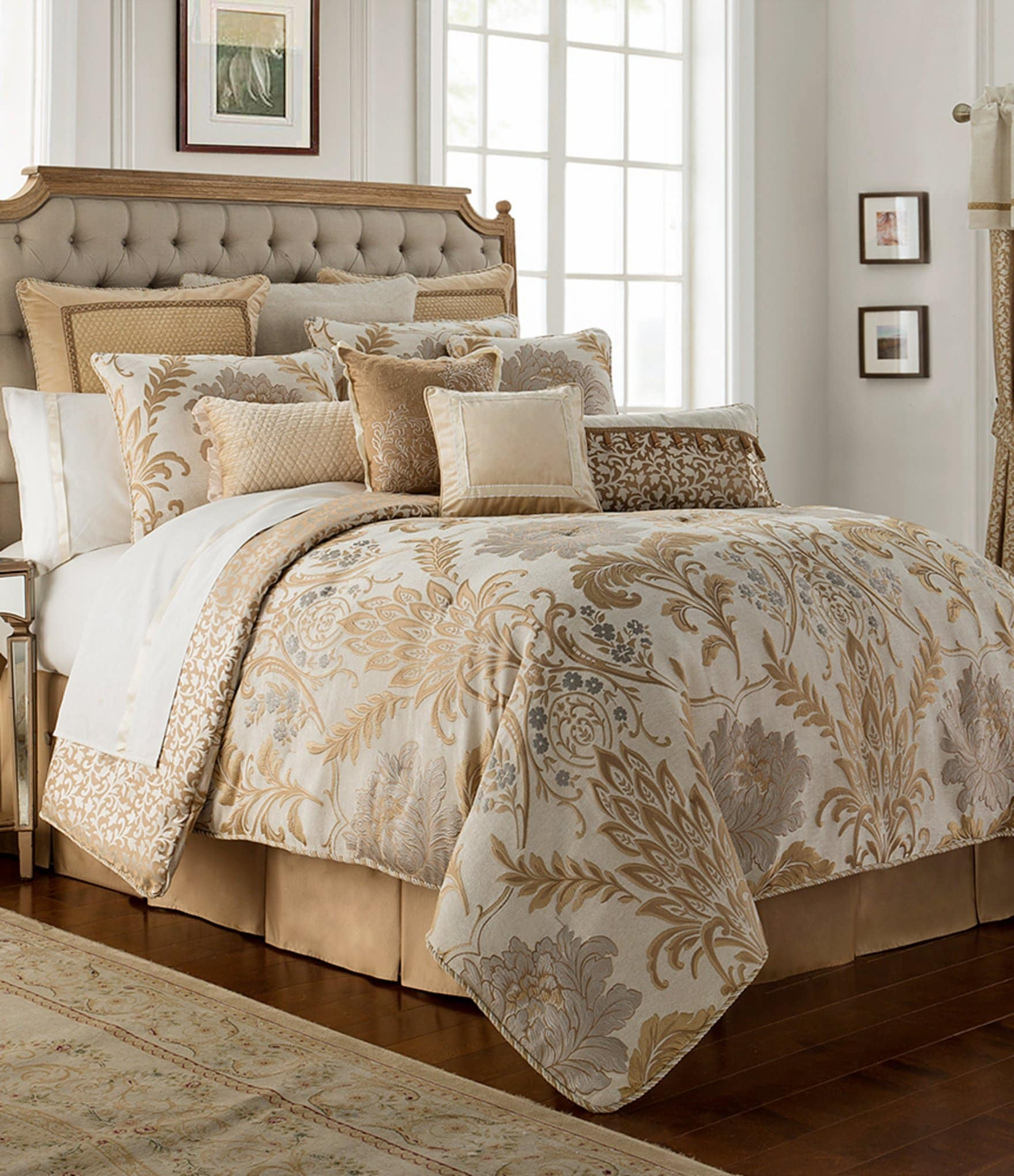 Waterford Ansonia Floral Jacquard Comforter Set Dillard S