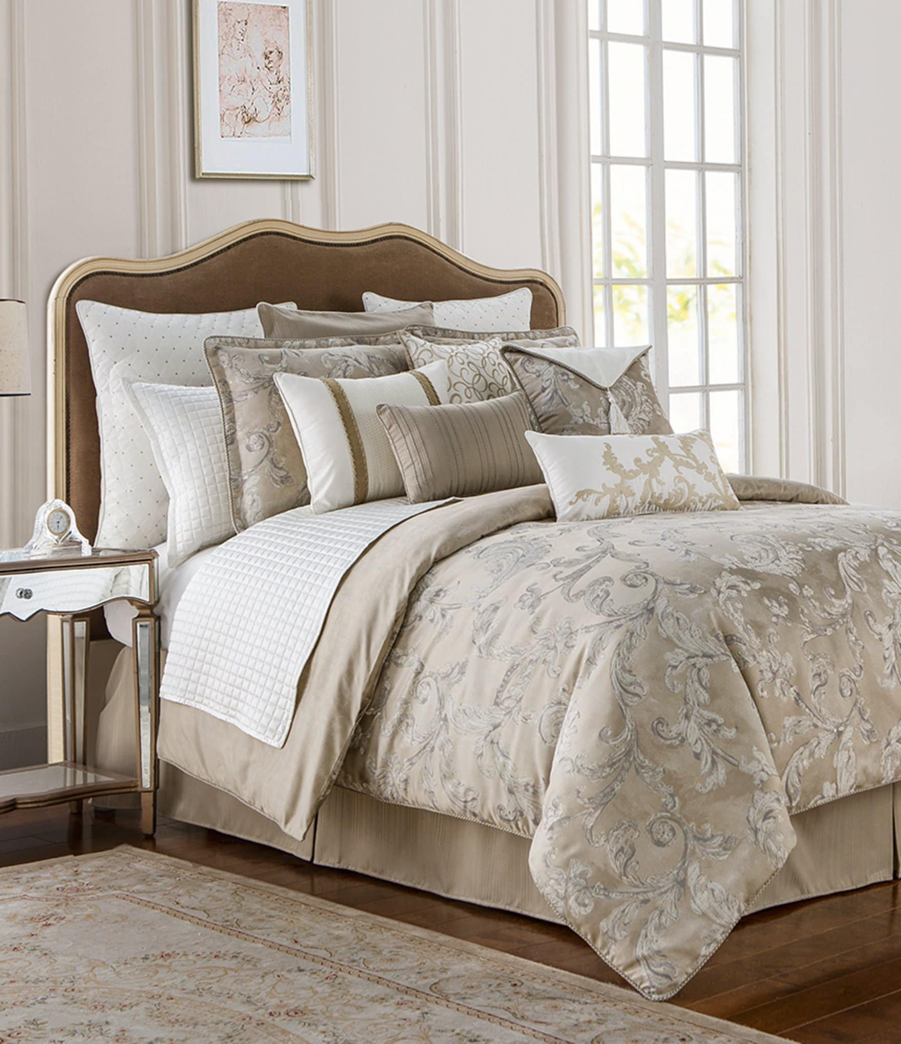 Waterford Chantelle Leaf Jacquard Comforter Set Dillard S