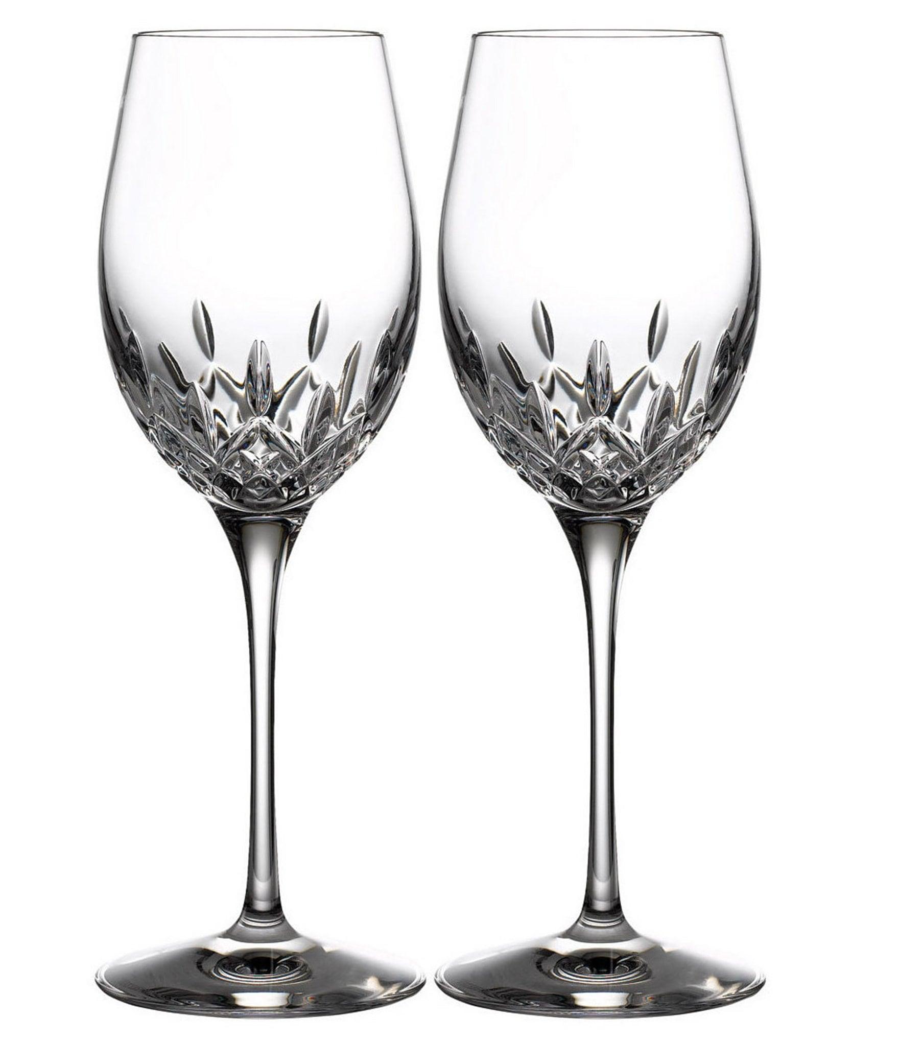 Waterford Crystal Lismore Essence White Wine Glasses, Set ...